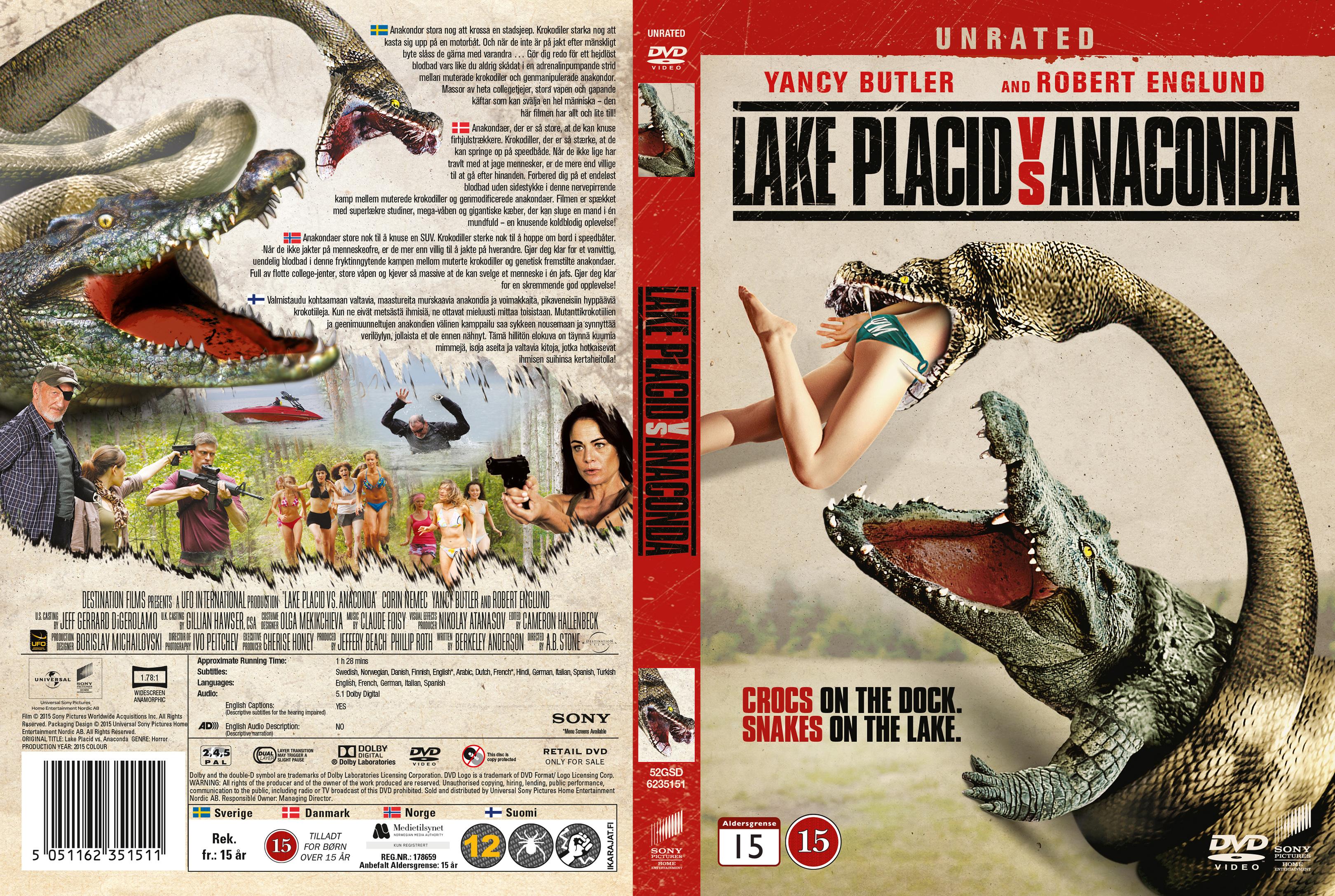 Anaconda Vs Lake Placid Full Movie covers.box.sk ::: lake placid vs anaconda (2015) - nordic