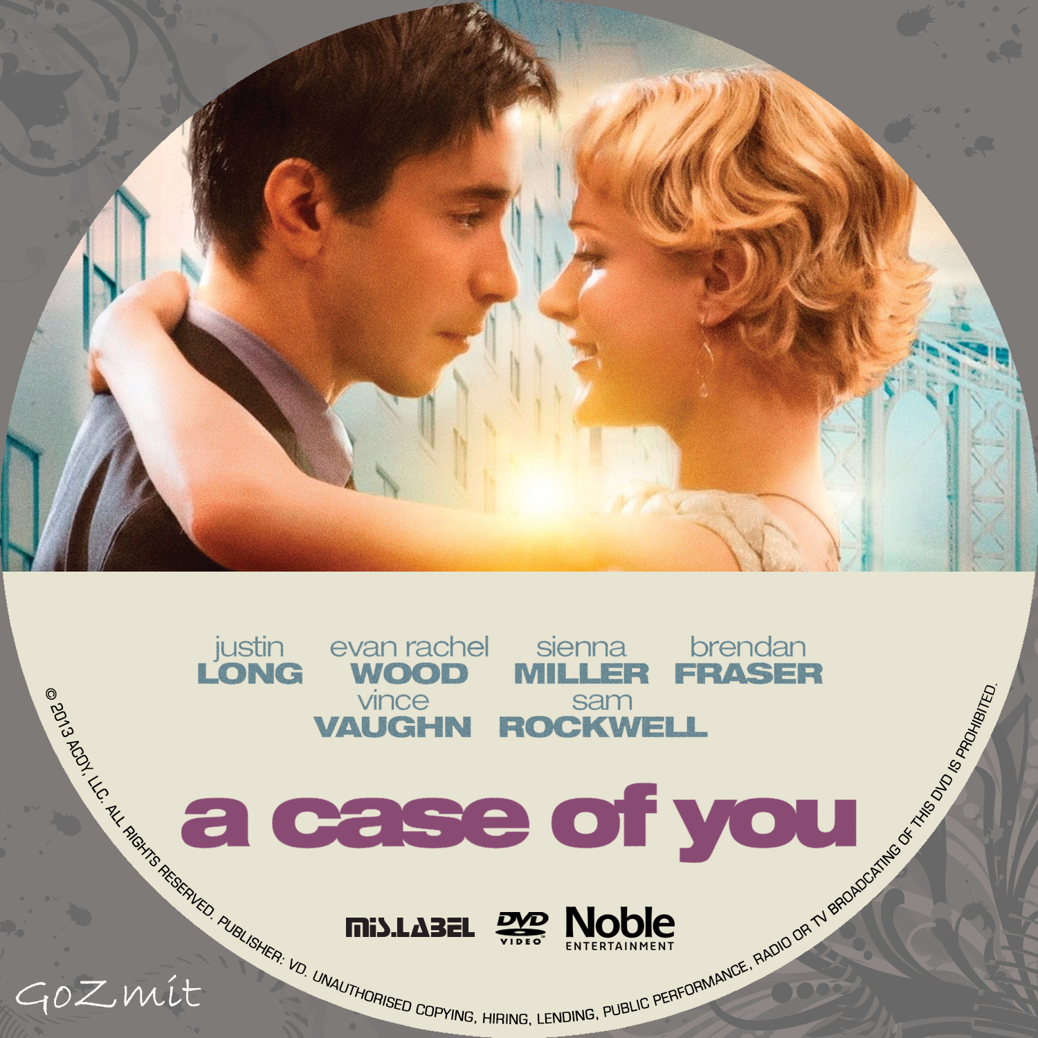 Covers Box Sk A Case Of You 2013 Nordic High Quality Dvd Blueray Movie