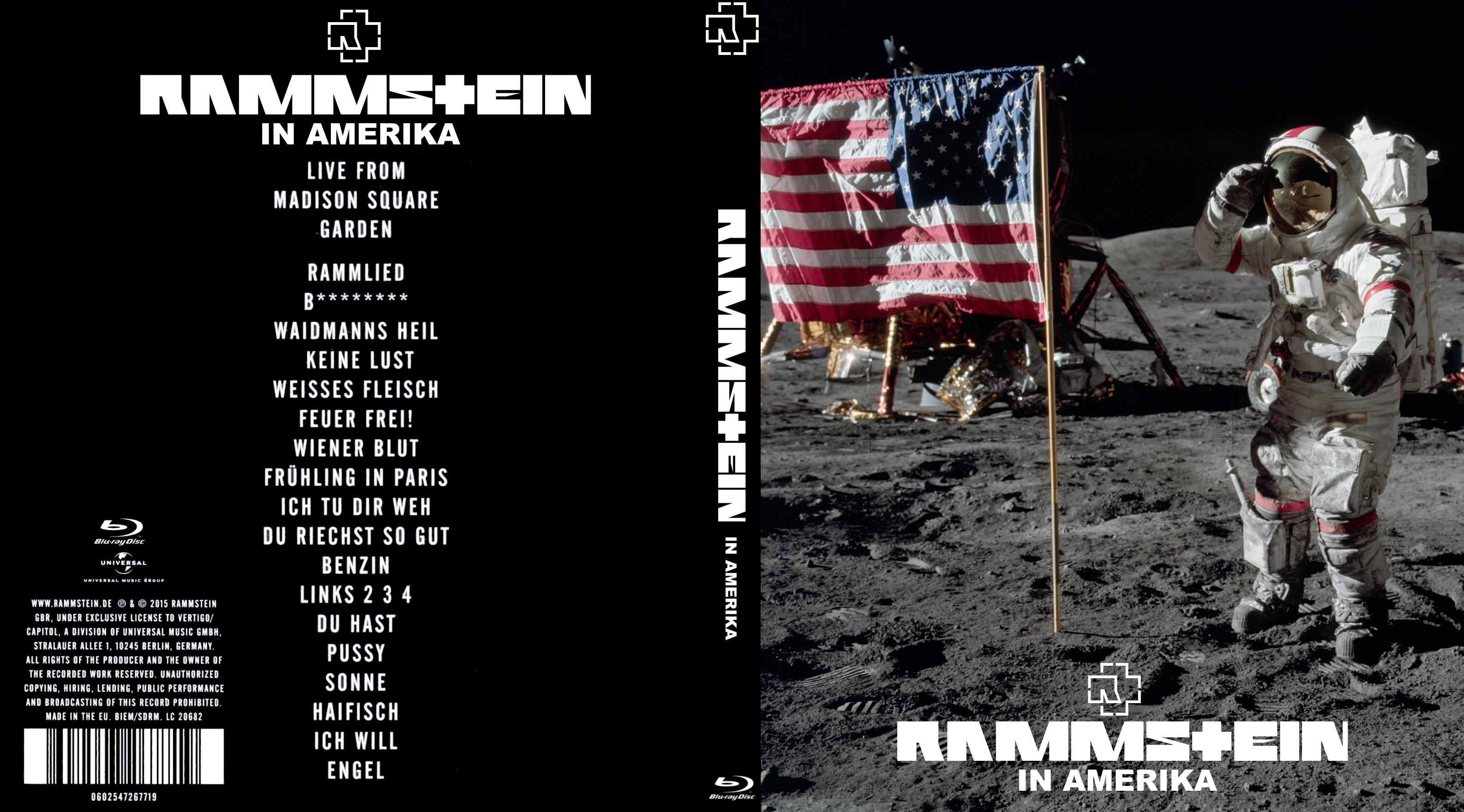 Covers Box Sk Rammstein In Amerika 2015 High Quality Dvd Blueray Movie