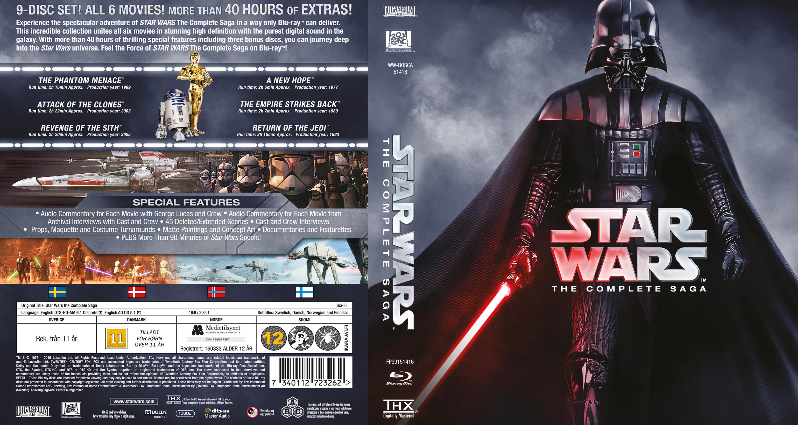coversboxsk star wars the complete saga bluray