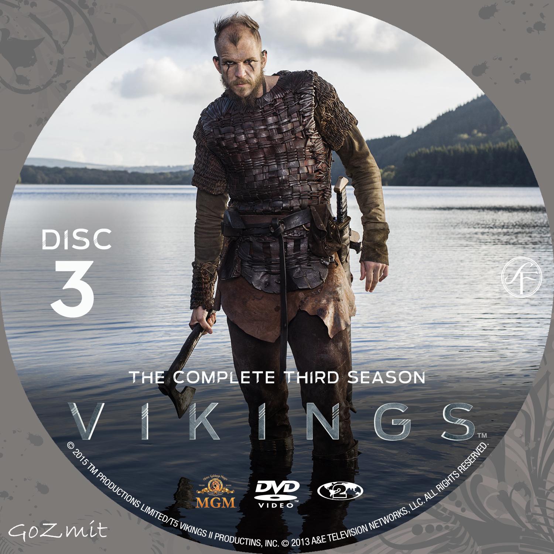 COVERS BOX SK ::: Vikings - Season 3 (Nordic) - high quality