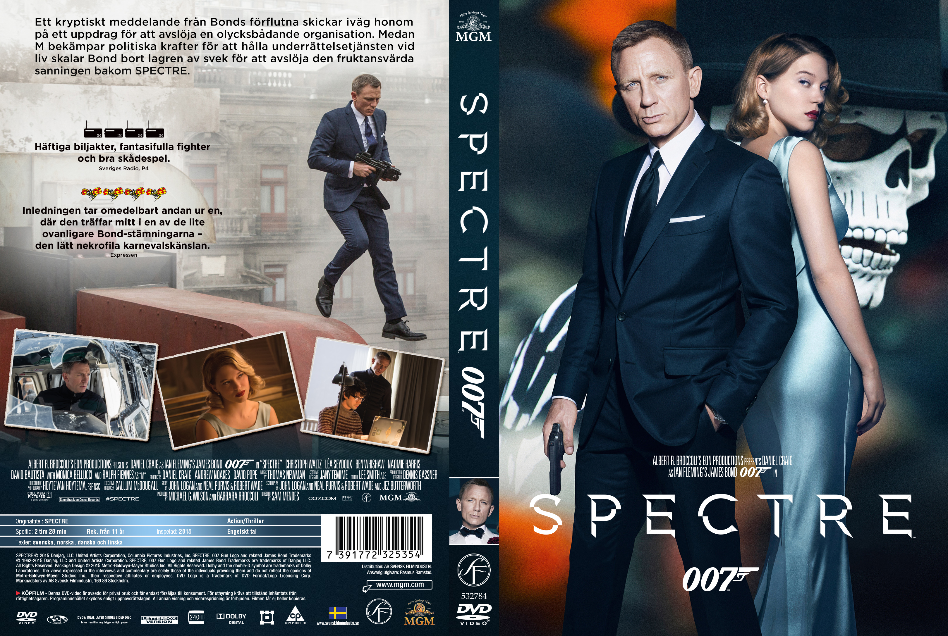 Covers Box Sk Spectre 2015 High Quality Dvd Blueray Movie