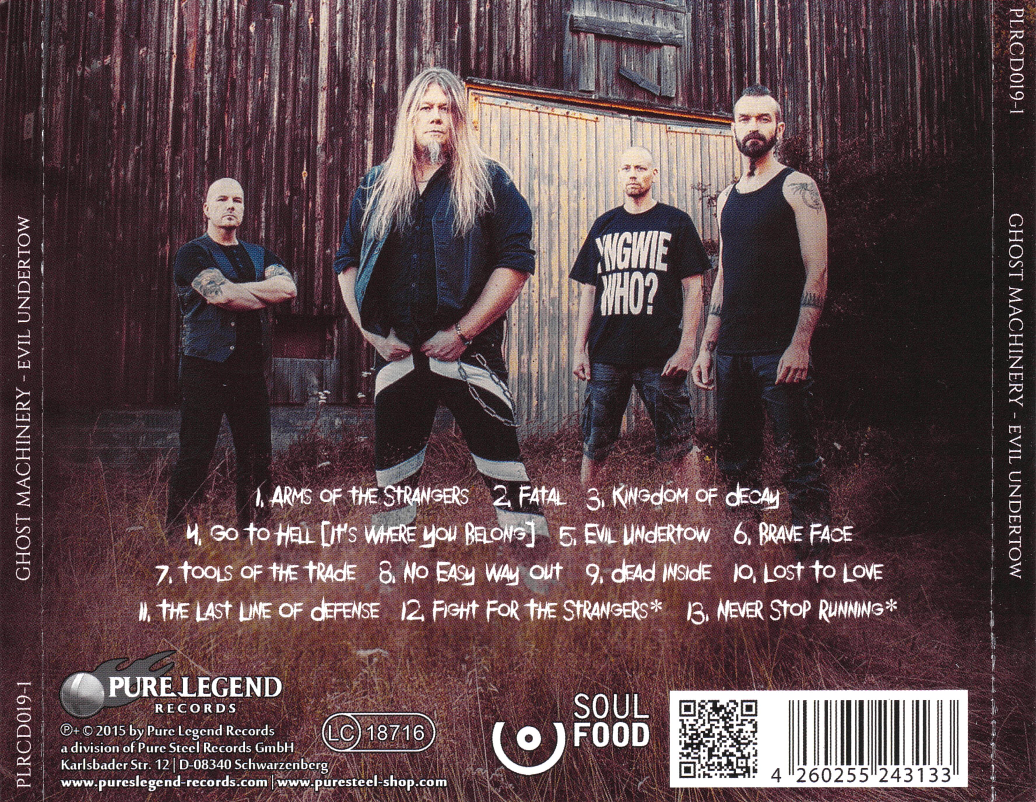 COVERS BOX SK ::: Ghost Machinery - Evil Undertow (2015) - high