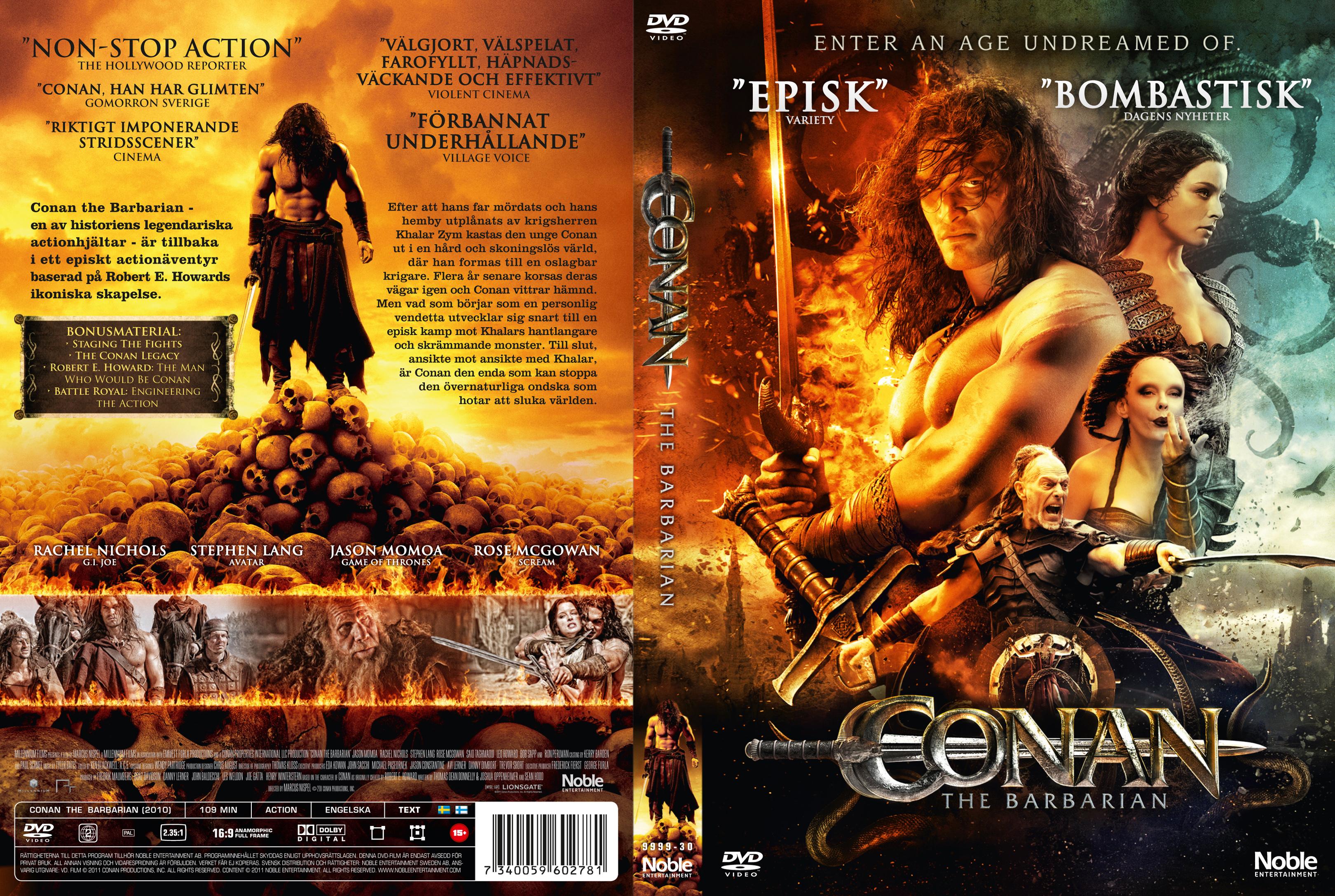 Conan 2011 Minimalist covers.box.sk ::: conan the barbarian (2011) - high quality dvd