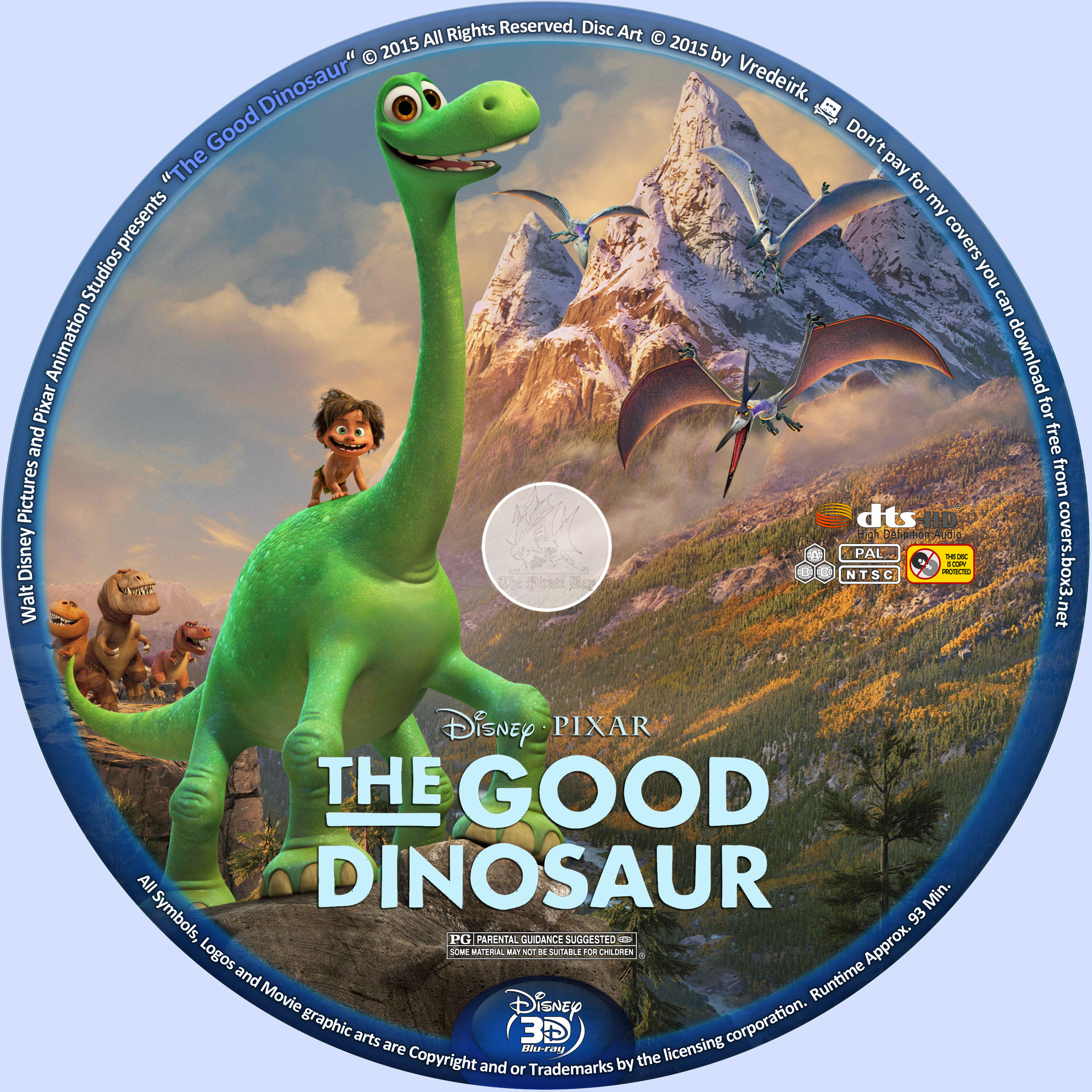 The Good Dinosaur full trailer