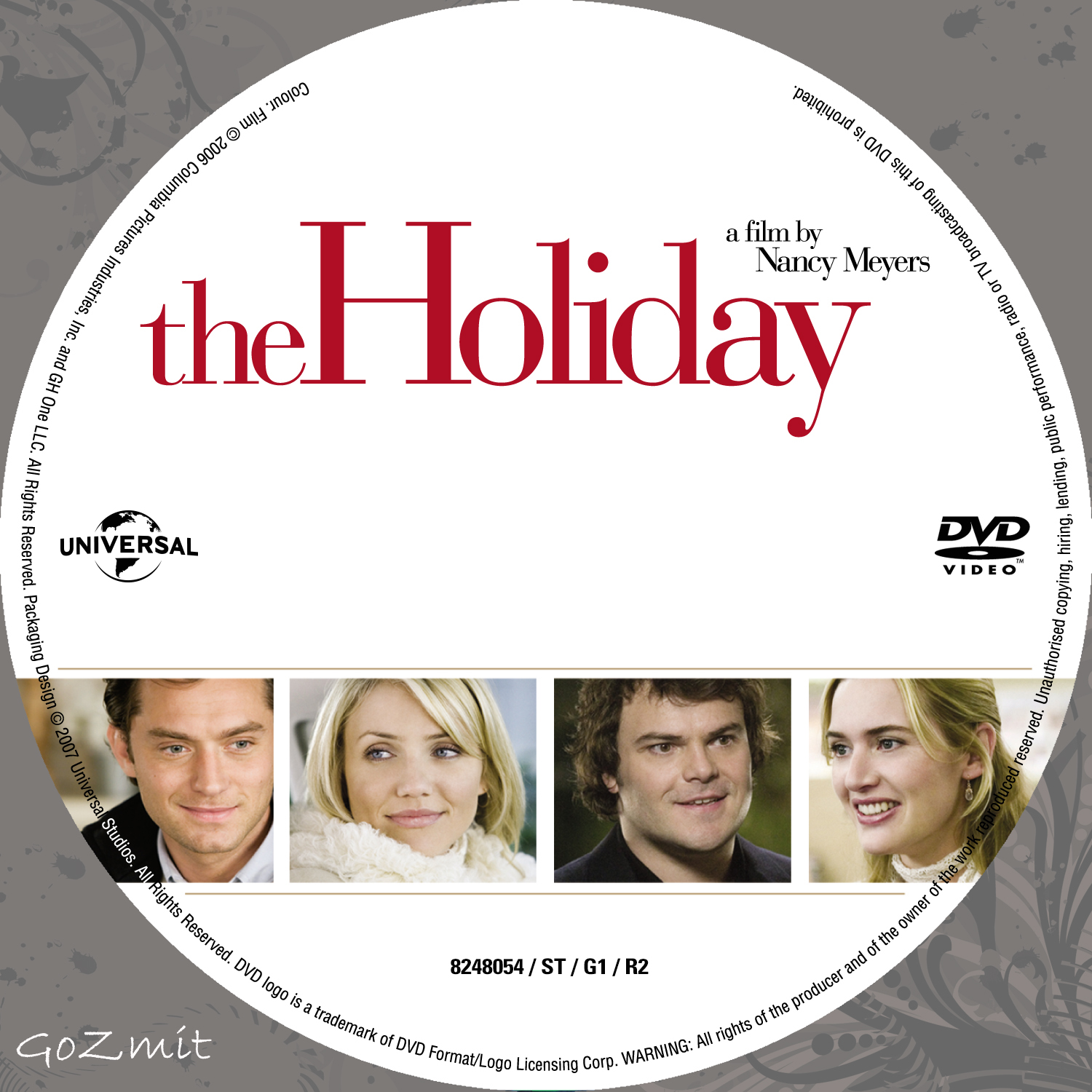 Covers Box Sk The Holiday 2006 High Quality Dvd Blueray Movie