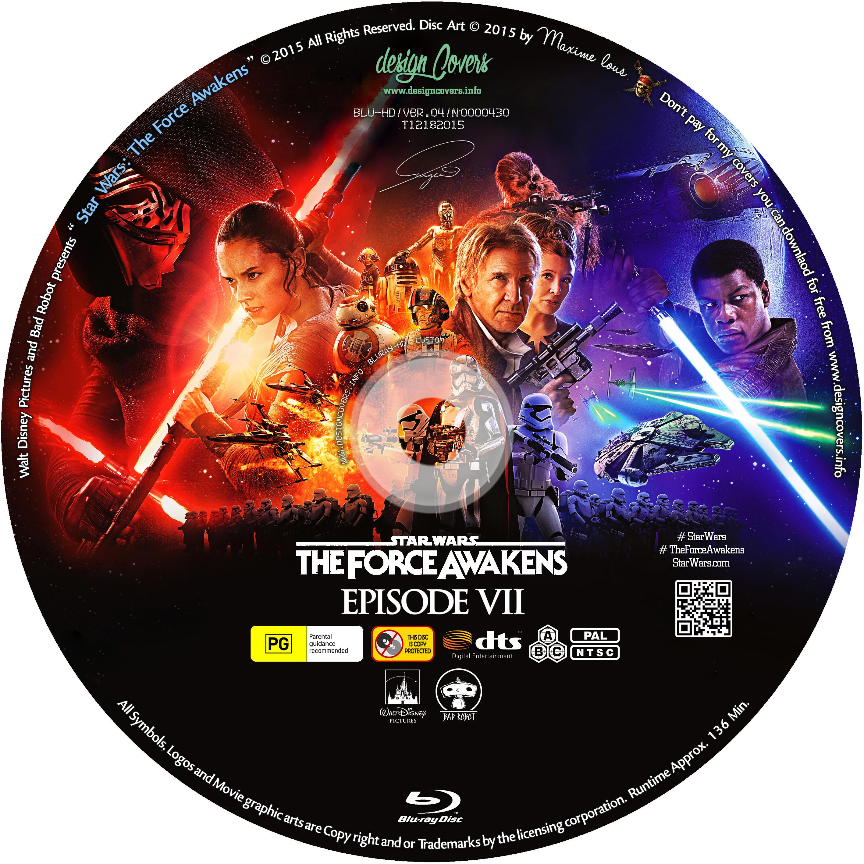 COVERS BOX SK ::: Star Wars: The Force Awakens (2015) Blu