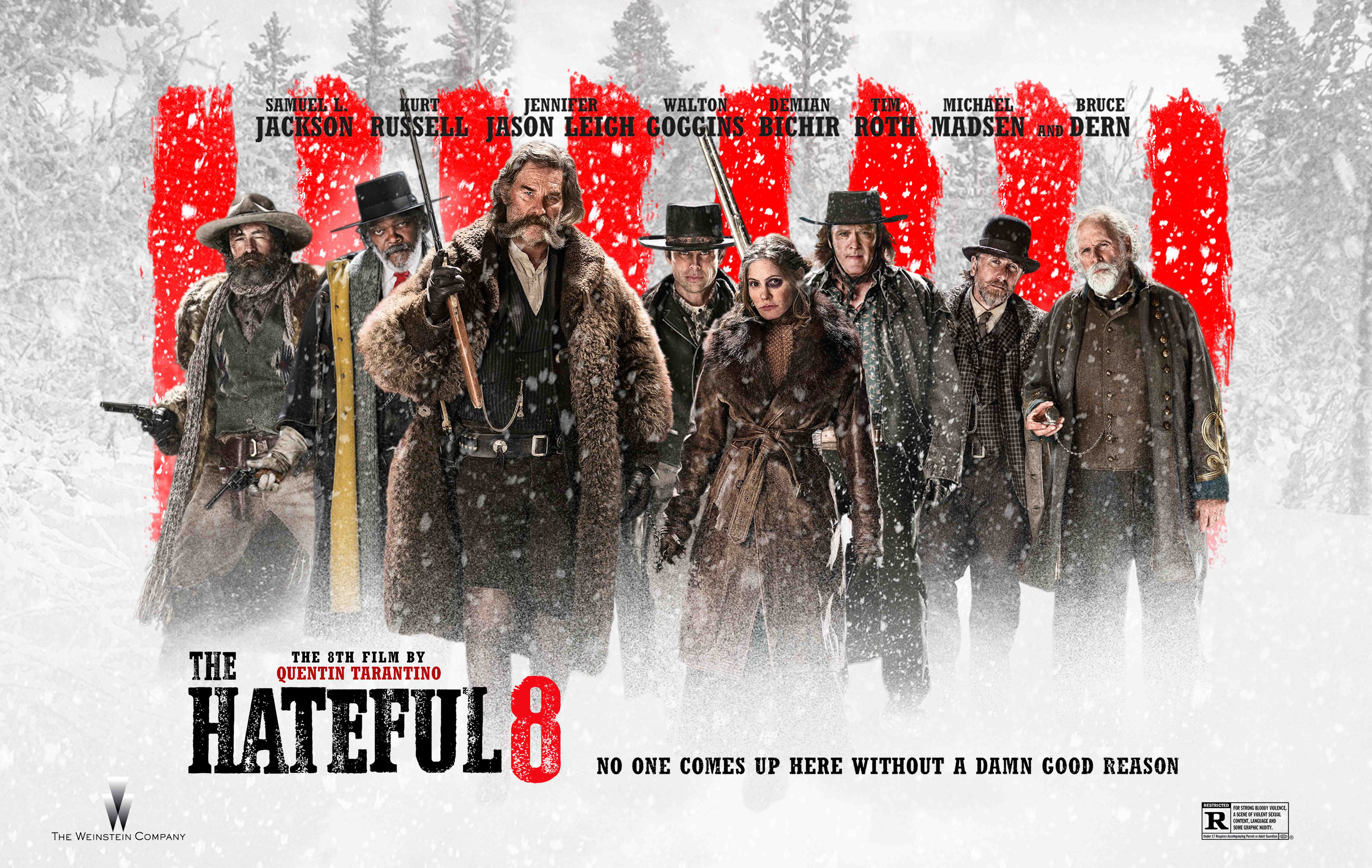 COVERS.BOX.SK ::: The Hateful Eight (2016) Blu-ray/DVD/HT