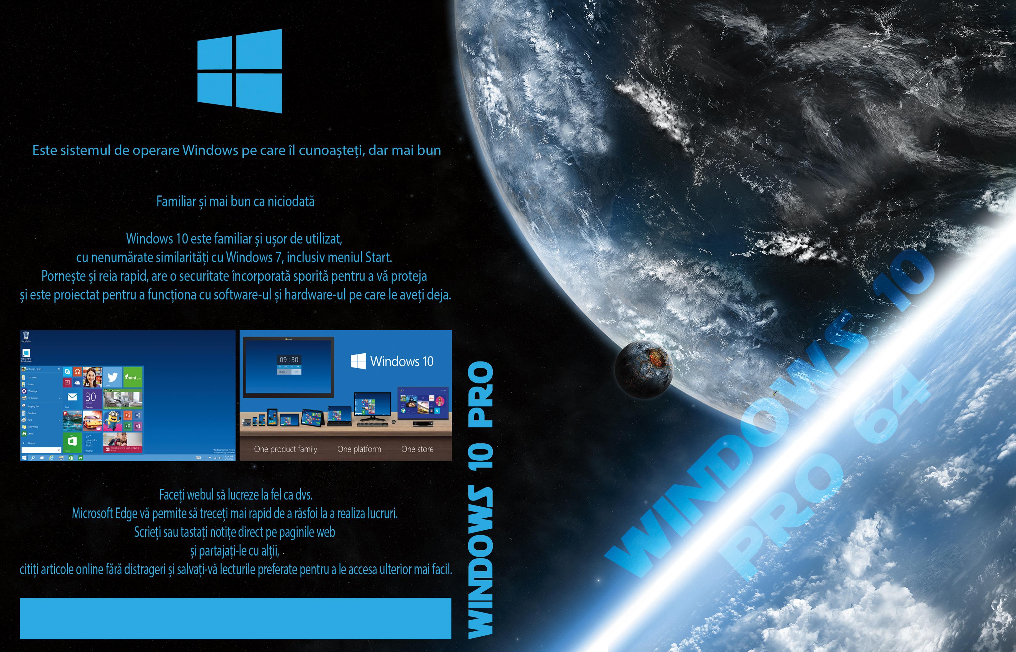 covers box sk     windows 10 pro 64bit romanian