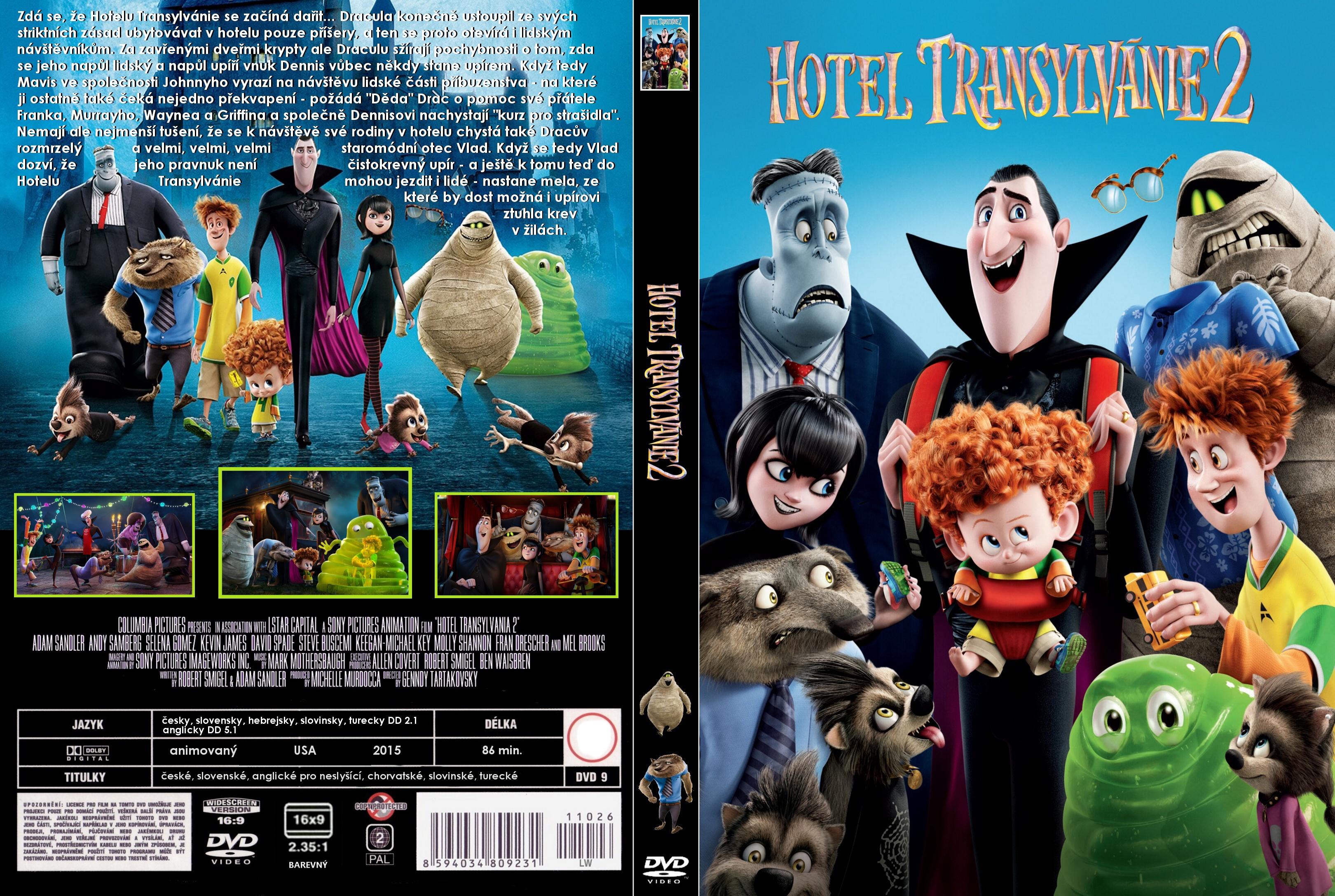 Covers Box Sk Hotel Transylvania 2 2015 High Quality Dvd Blueray Movie