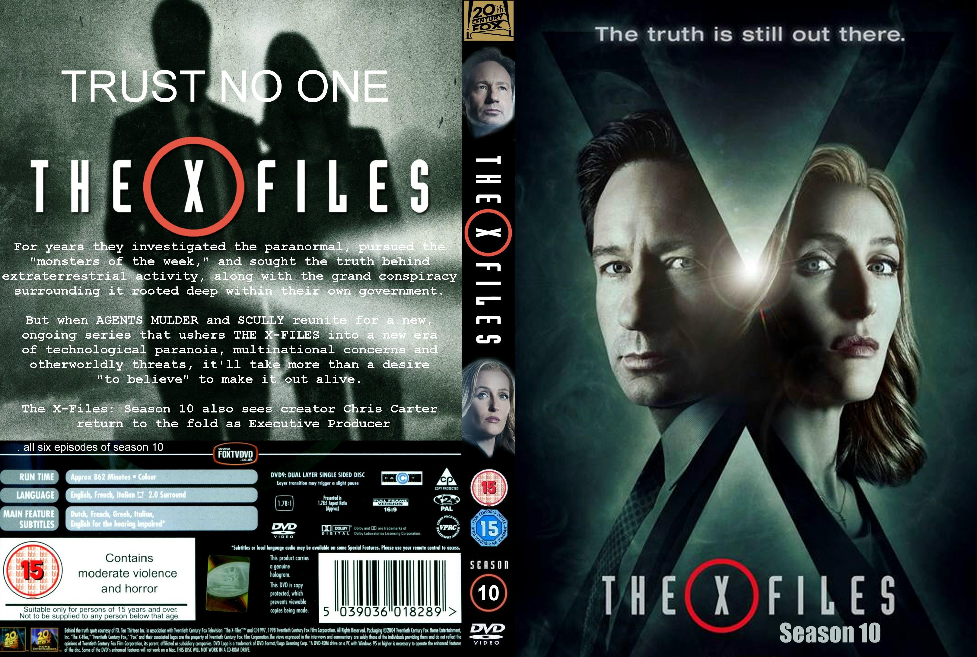 The X Files Event DVDBlu ray
