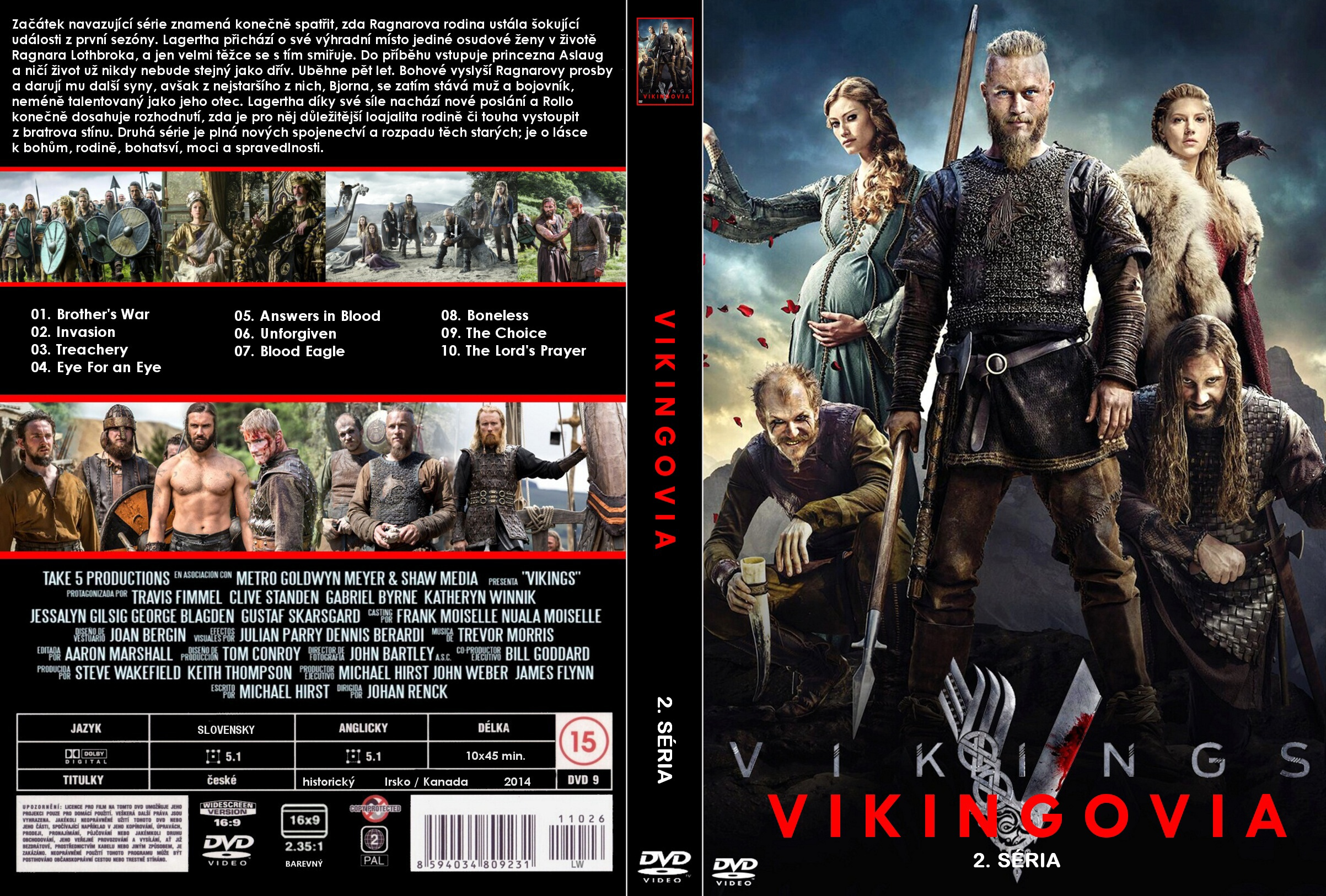 Pictures of Vikings Season 2 Dvd Cover - #rock-cafe
