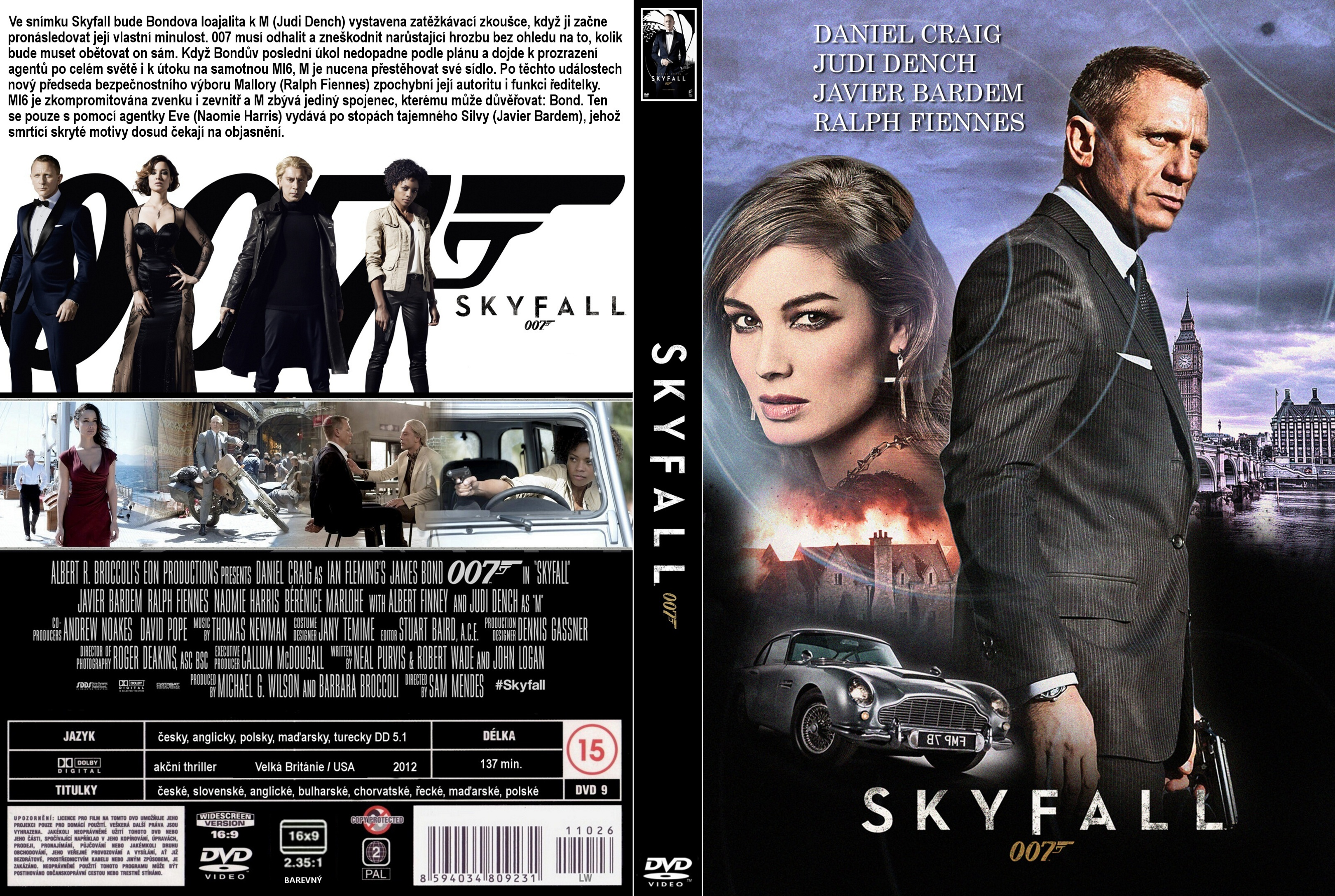 Amazonde Skyfall Poster 007 James Bond Daniel Craig