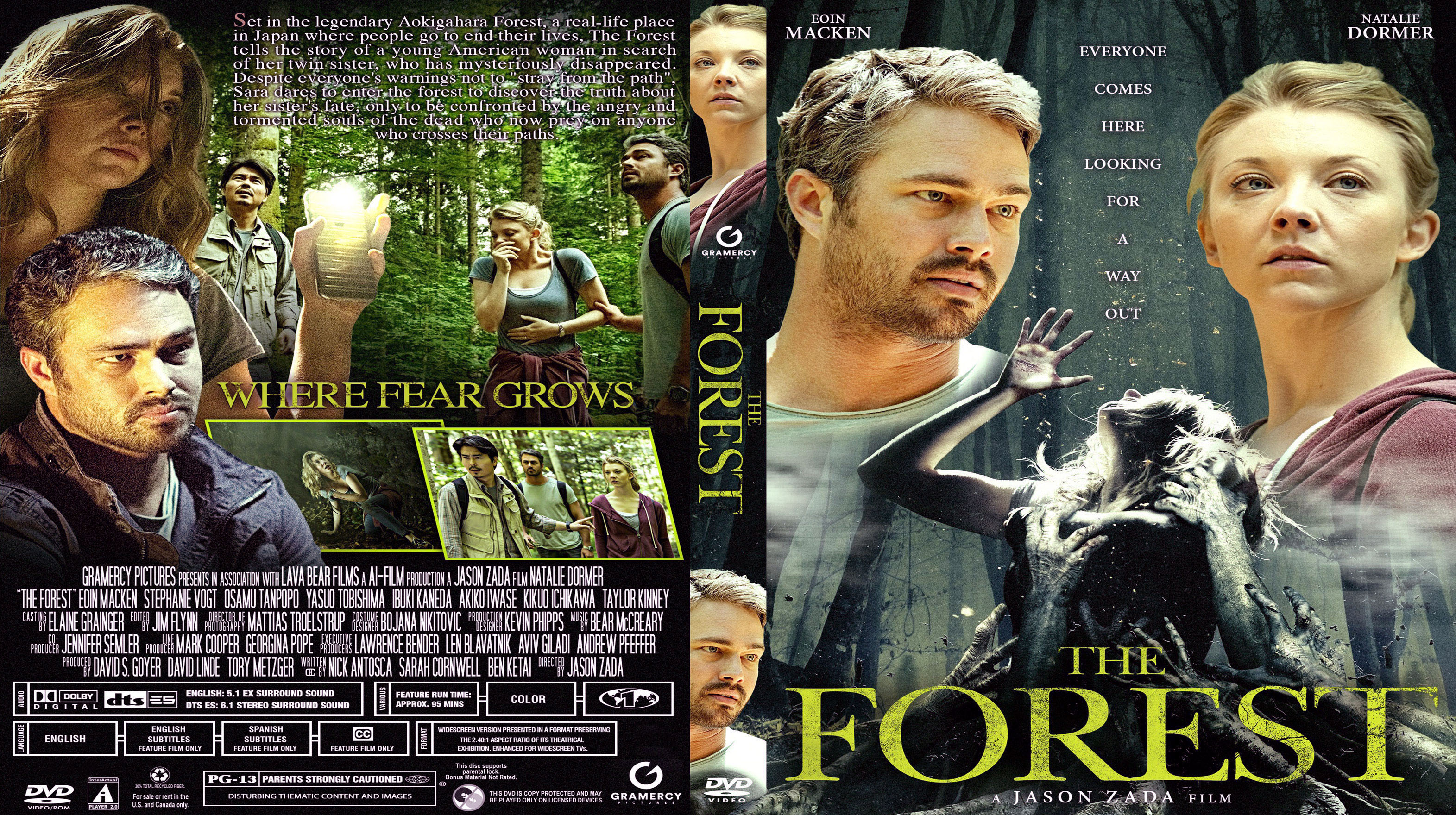 covers box sk the forest 2016 high quality dvd blueray movie