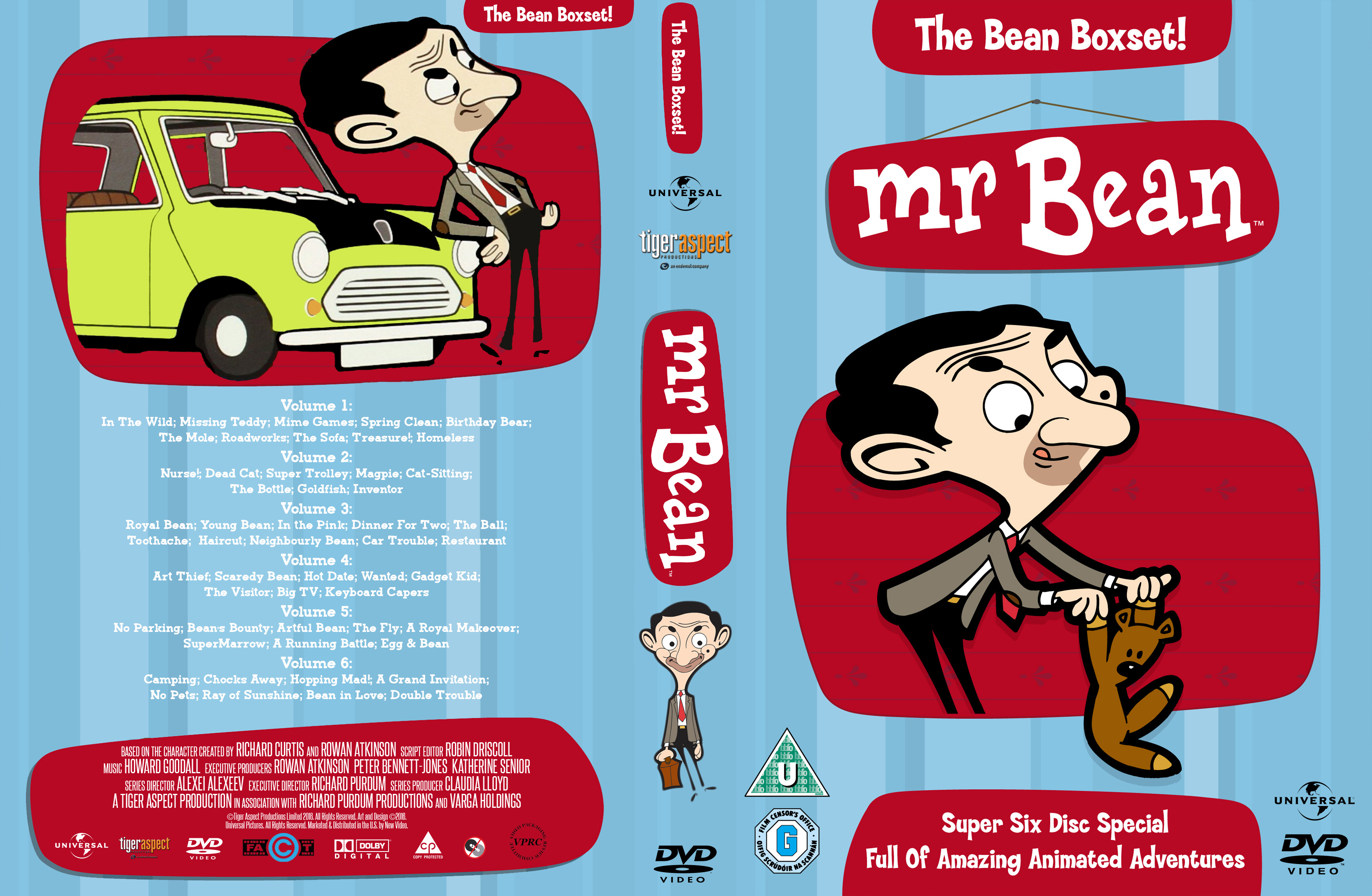 Coversboxsk Mr Bean The Bean Boxset High Quality Dvd