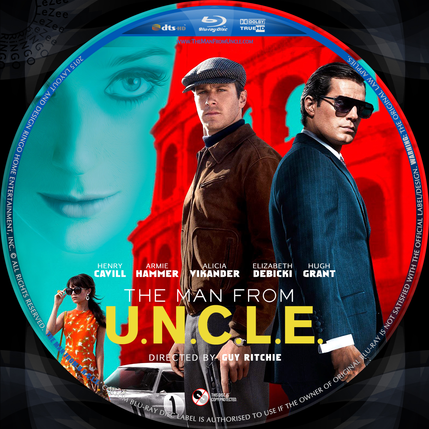 Man from uncle blu ray asda online