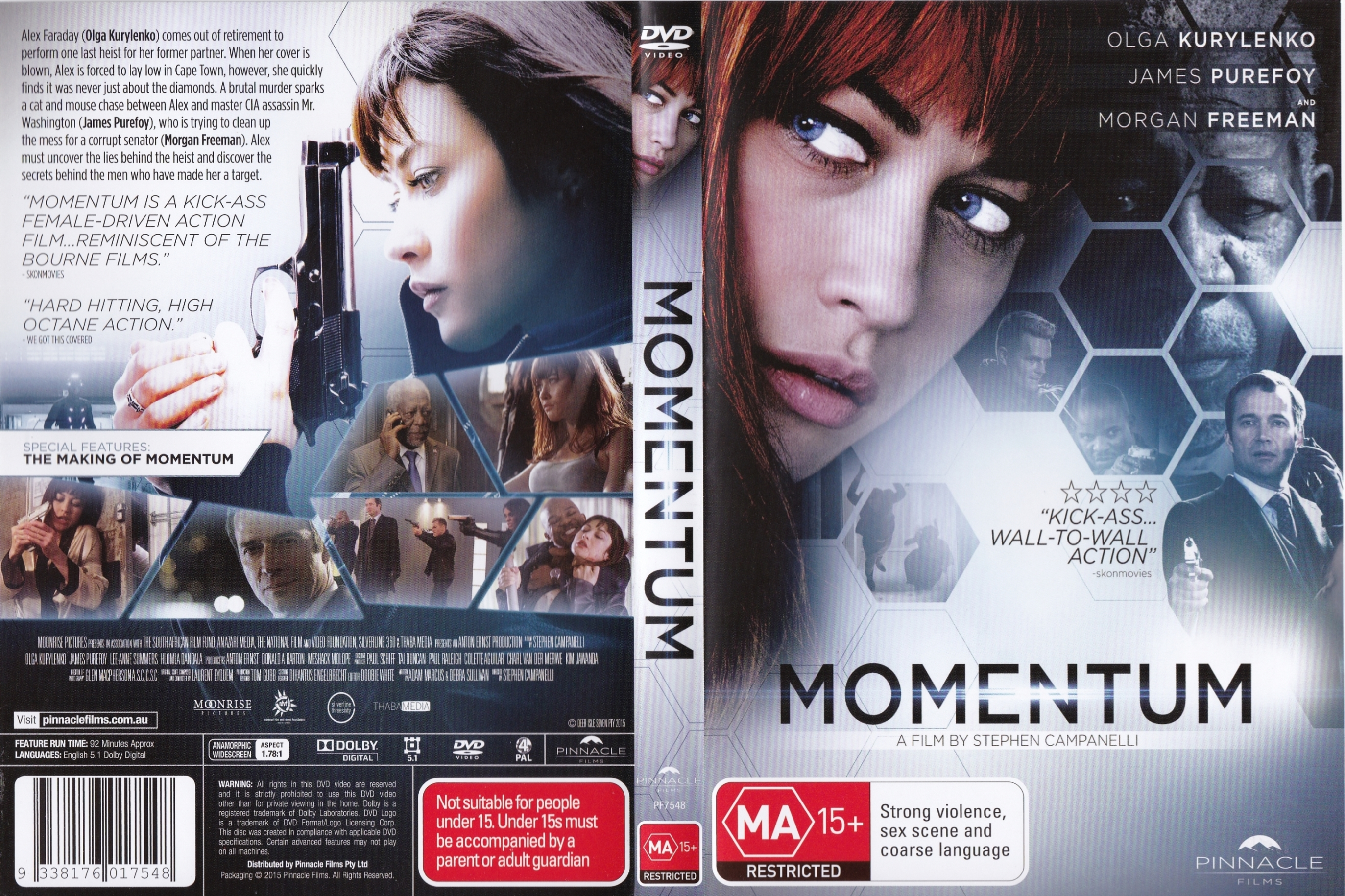 Coversboxsk Momentum 2015 High Quality Dvd Blueray Movie