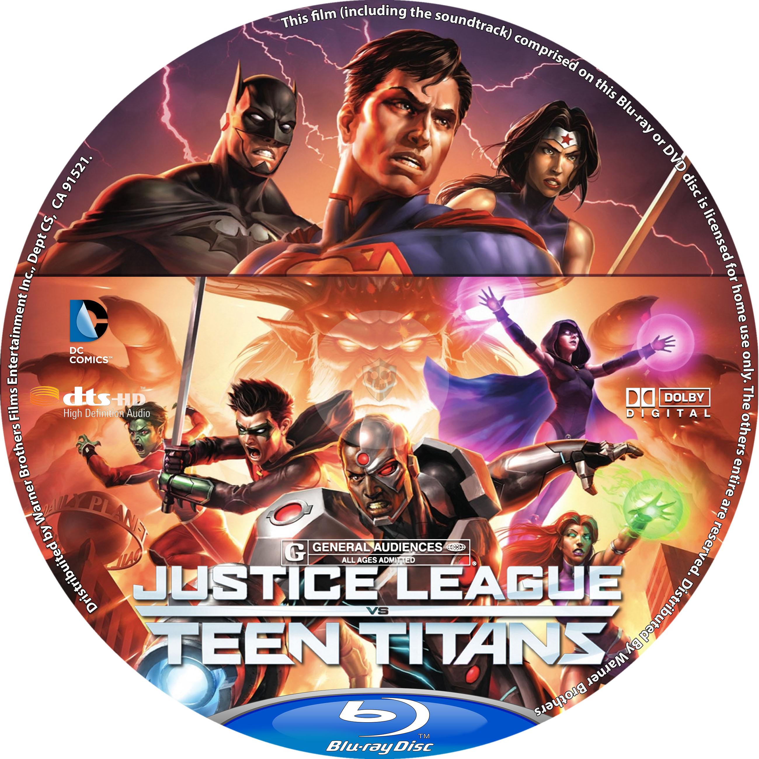 justice league vs teen titans download