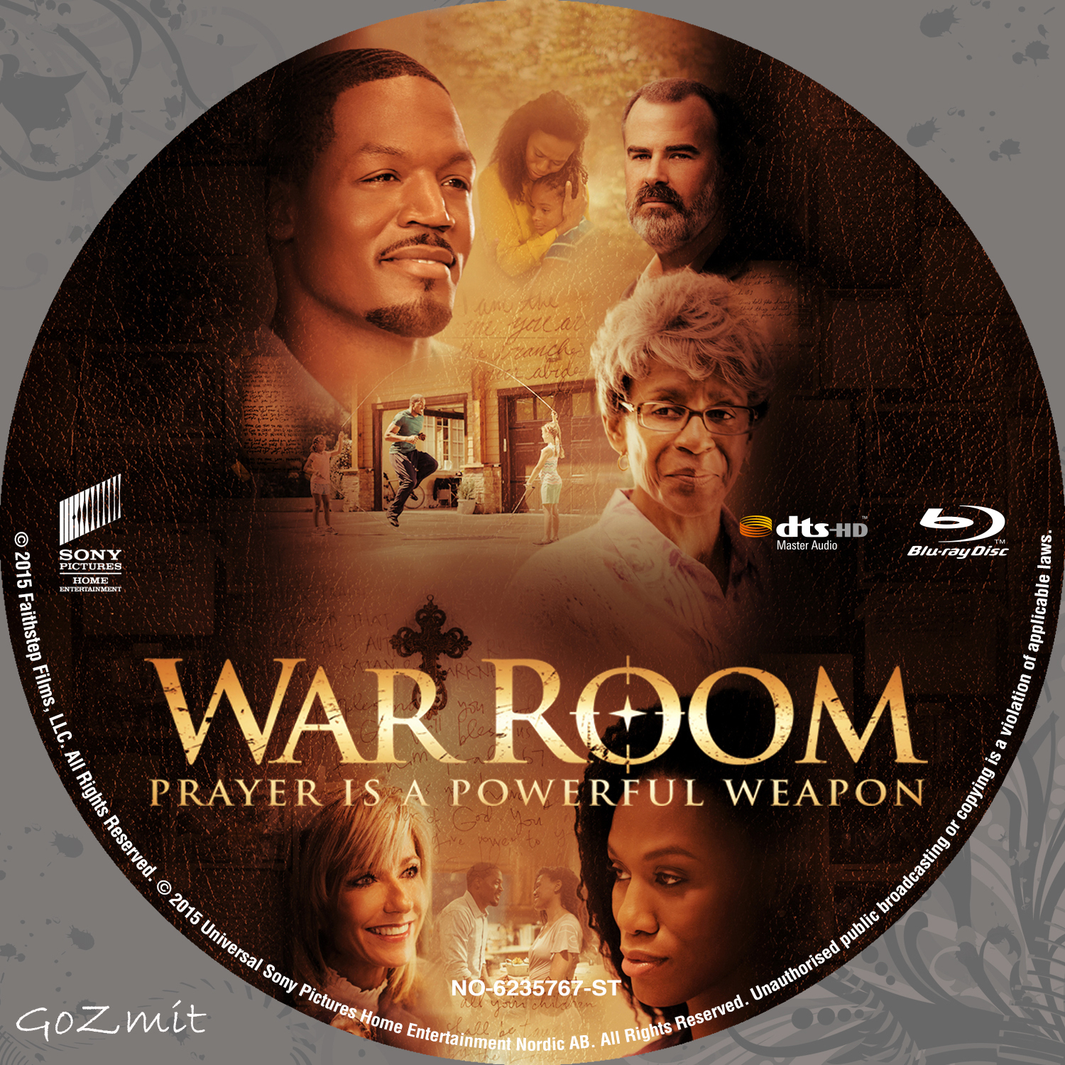 COVERS.BOX.SK ::: War Room - Blu-Ray - Nordic (2015) - high ...
