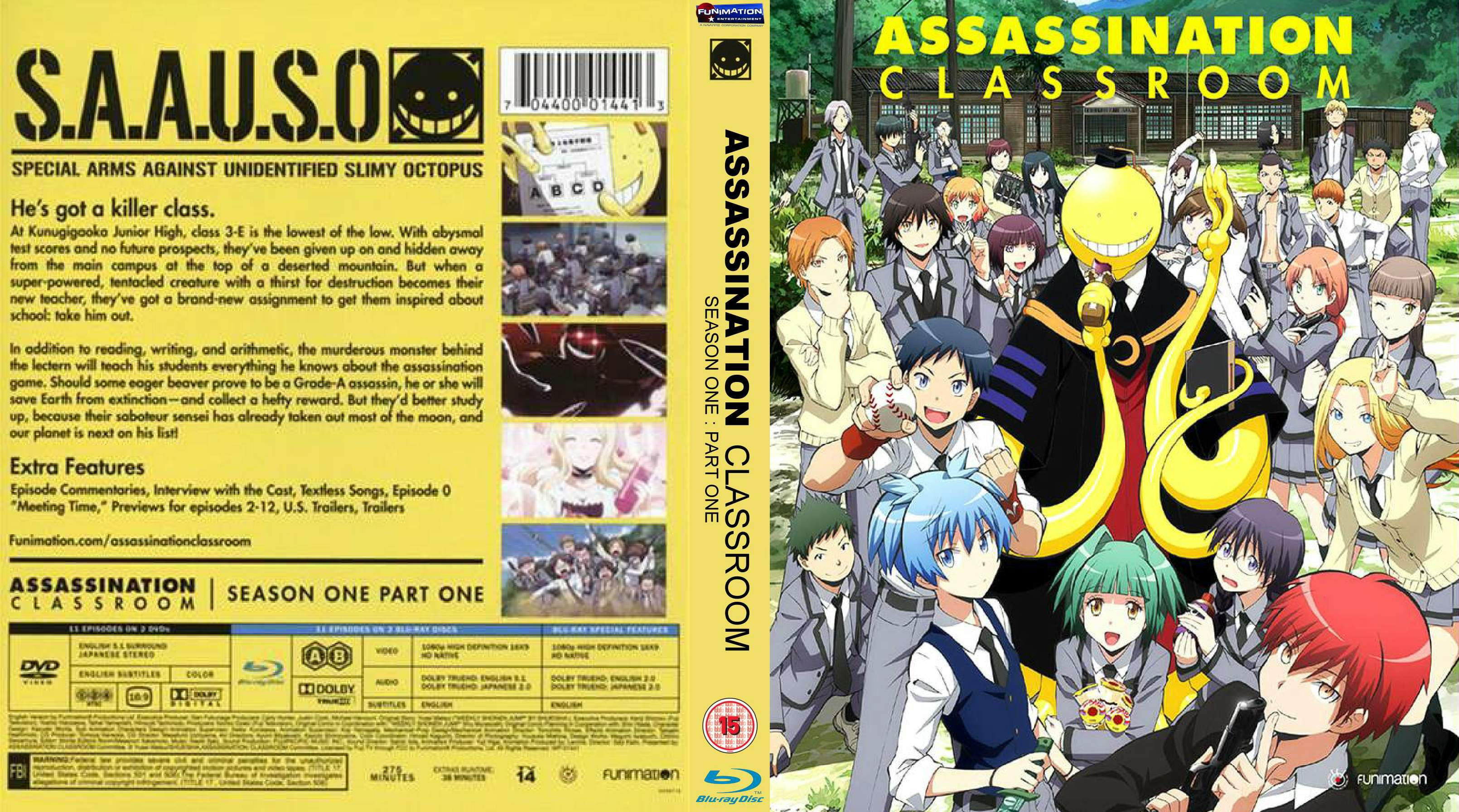 COVERS BOX SK ::: Assassination Classroom (2015) - high