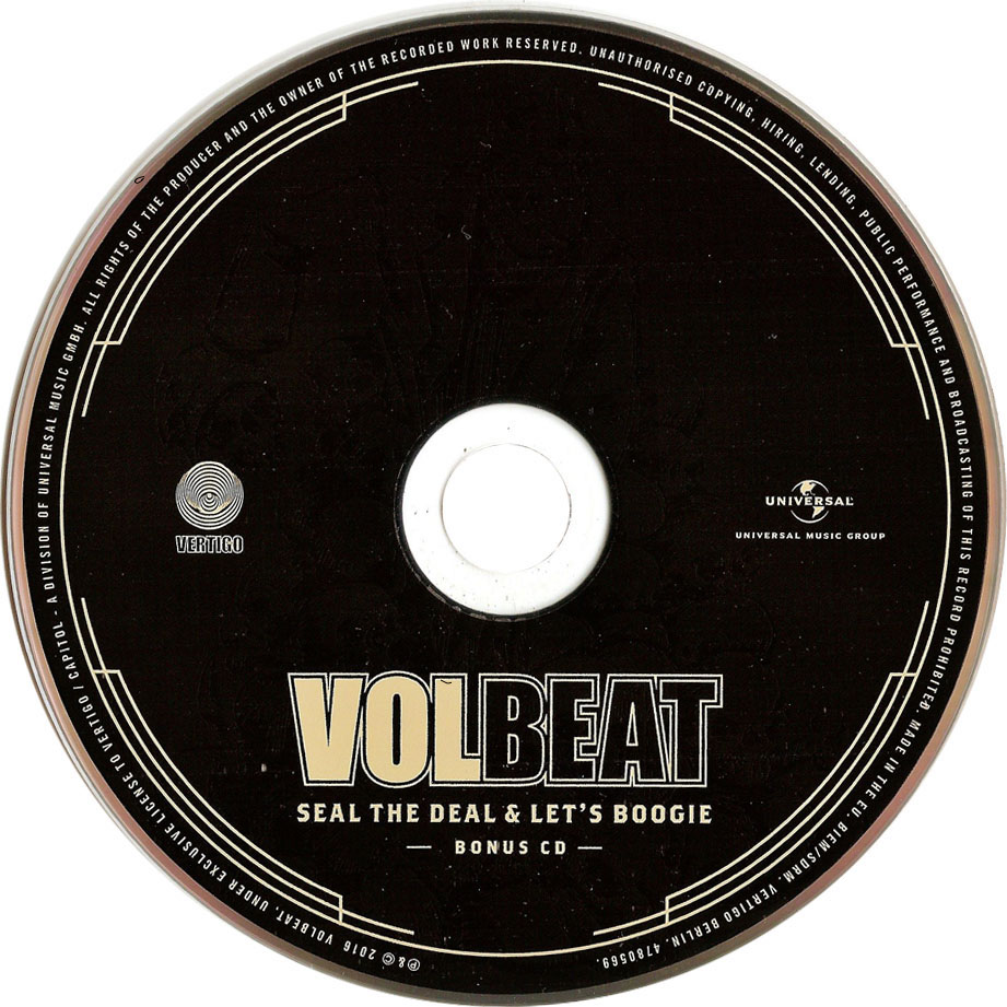 COVERS BOX SK ::: Volbeat - Seal The Deal & Let's Boogie