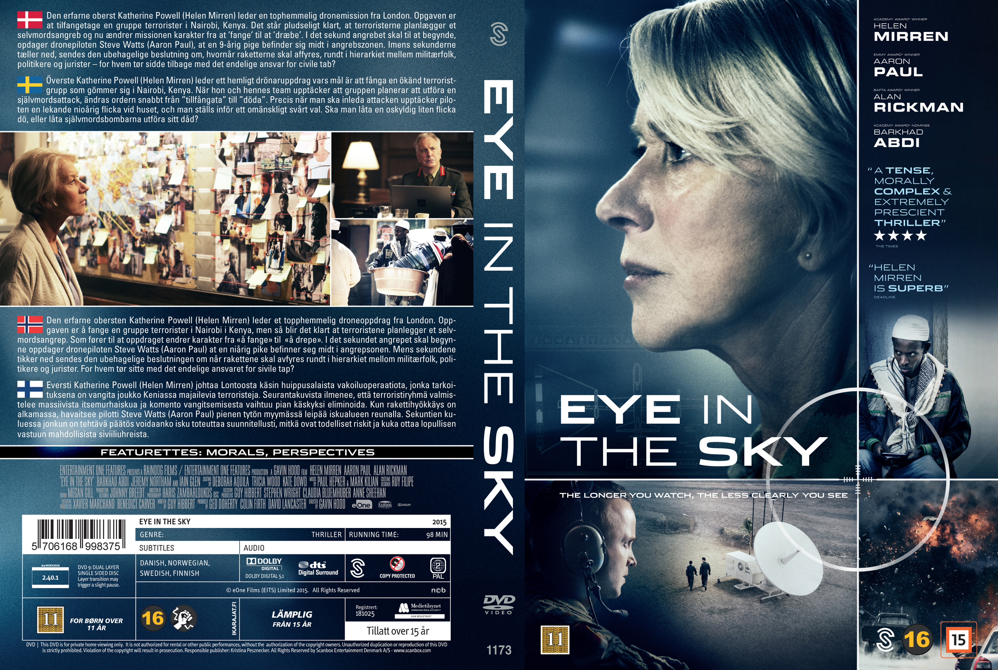 Intellectual Military Thriller Eye In The Sky 2015 Movie Forums