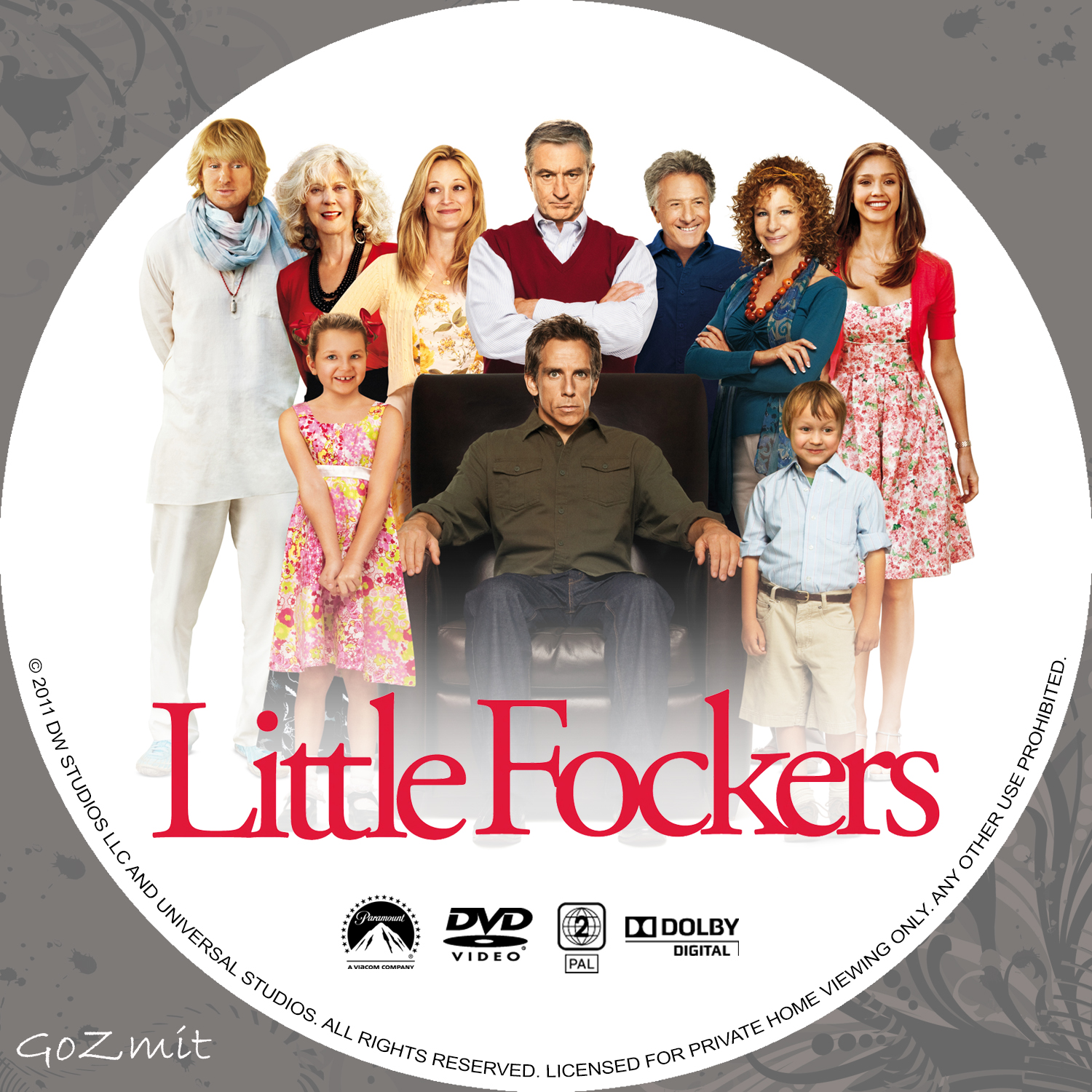 Covers Box Sk Little Fockers 2010 High Quality Dvd Blueray Movie