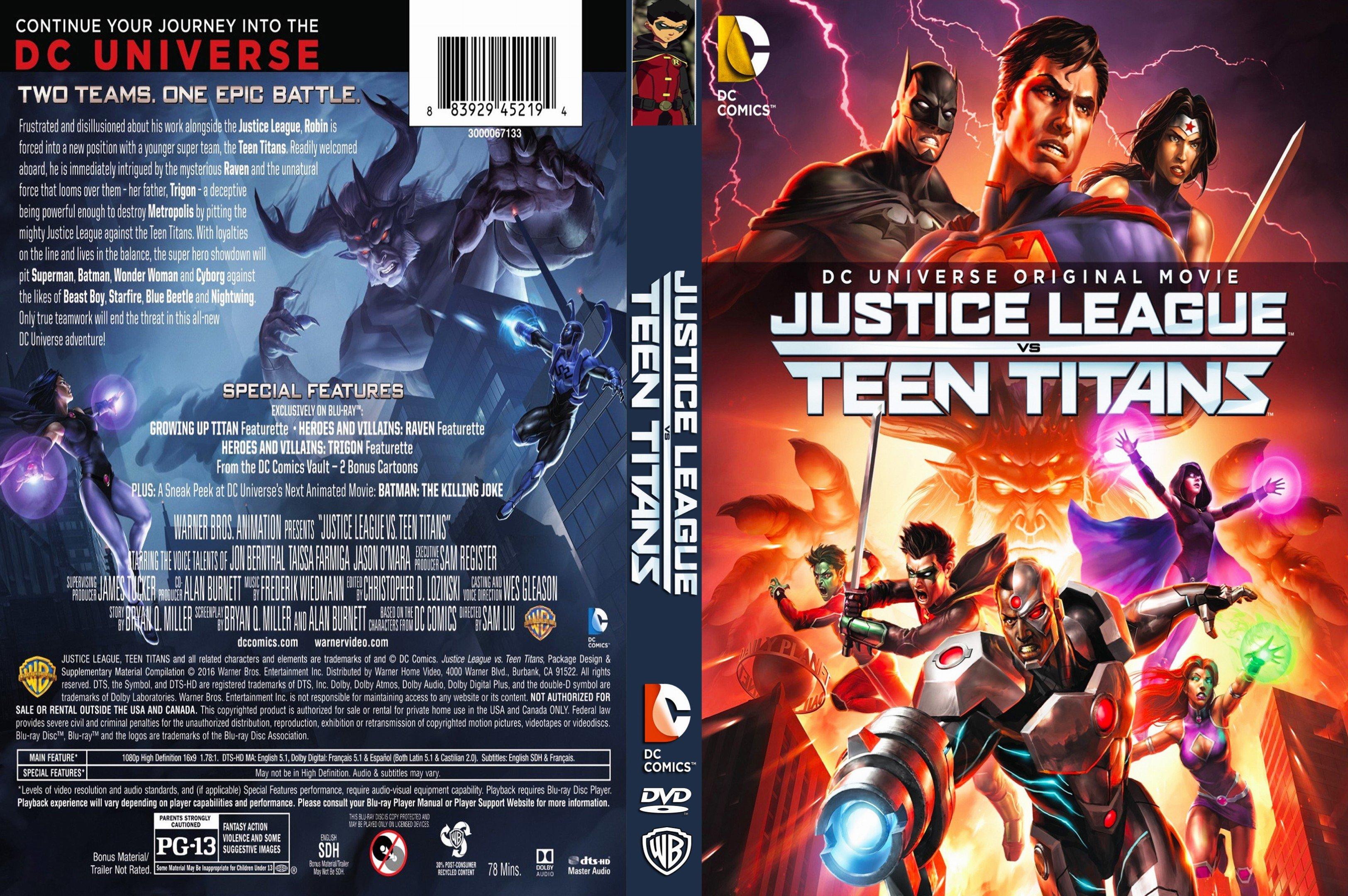 Coversboxsk  Justice League Vs Teen Titans 2016 -2781