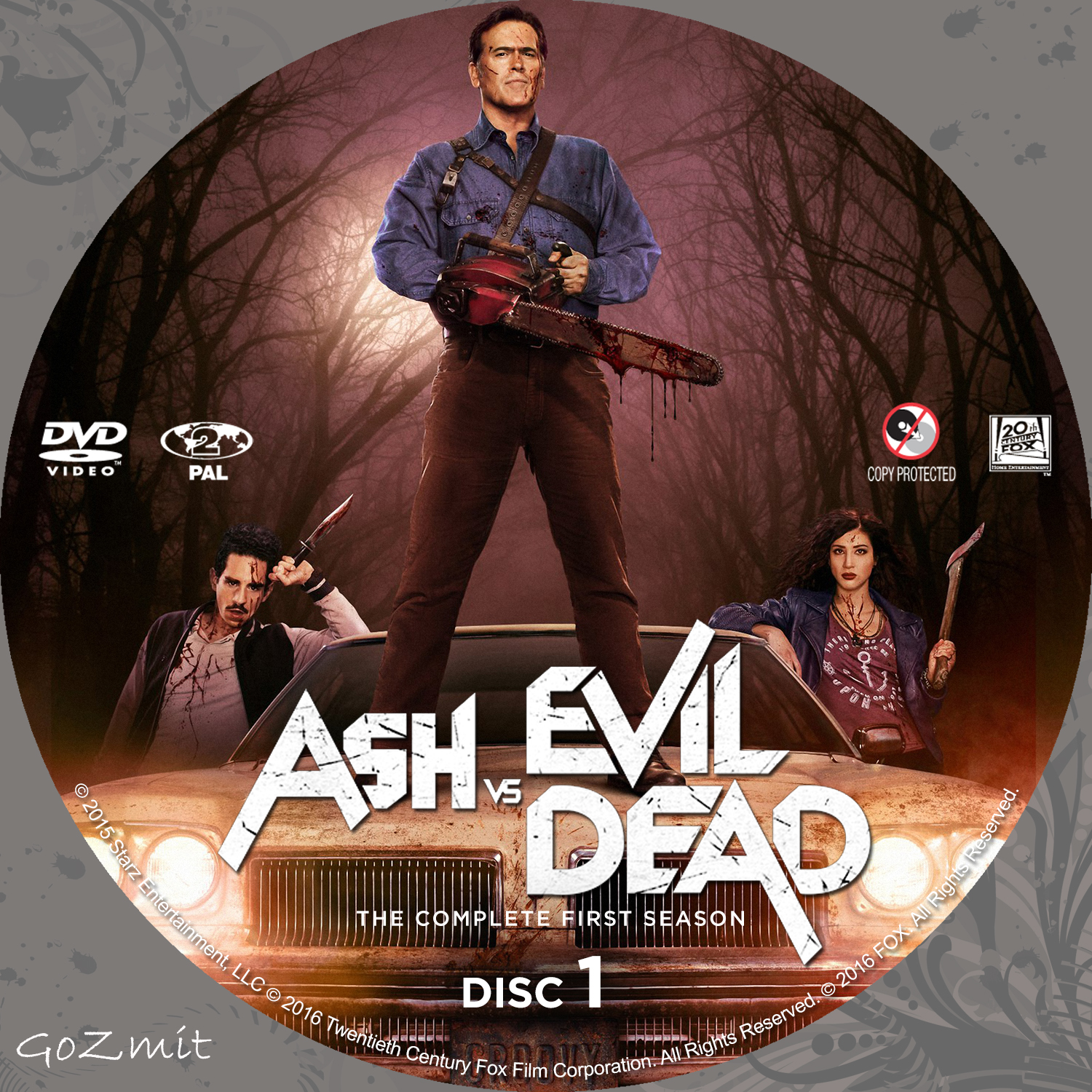 Gif evil dead ash vs evil dead bruce campbell animated gif on.