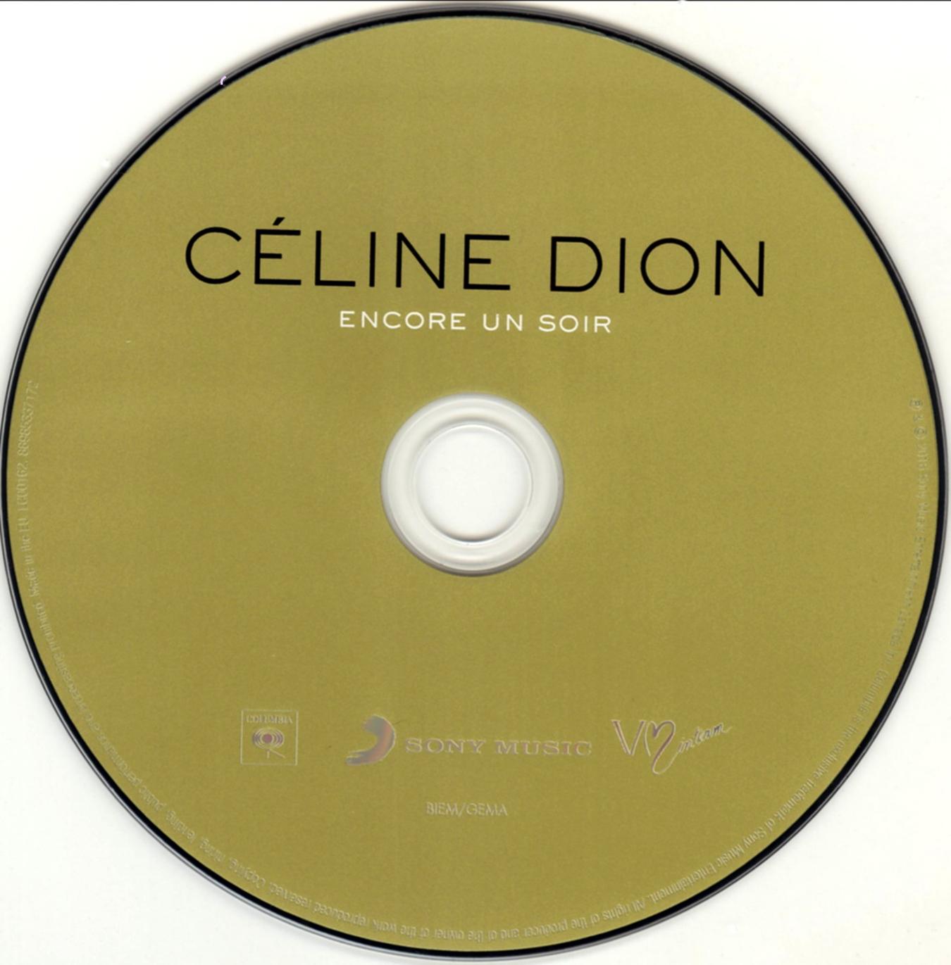 covers box sk celine dion encore un soir 2016 high quality dvd blueray movie. Black Bedroom Furniture Sets. Home Design Ideas