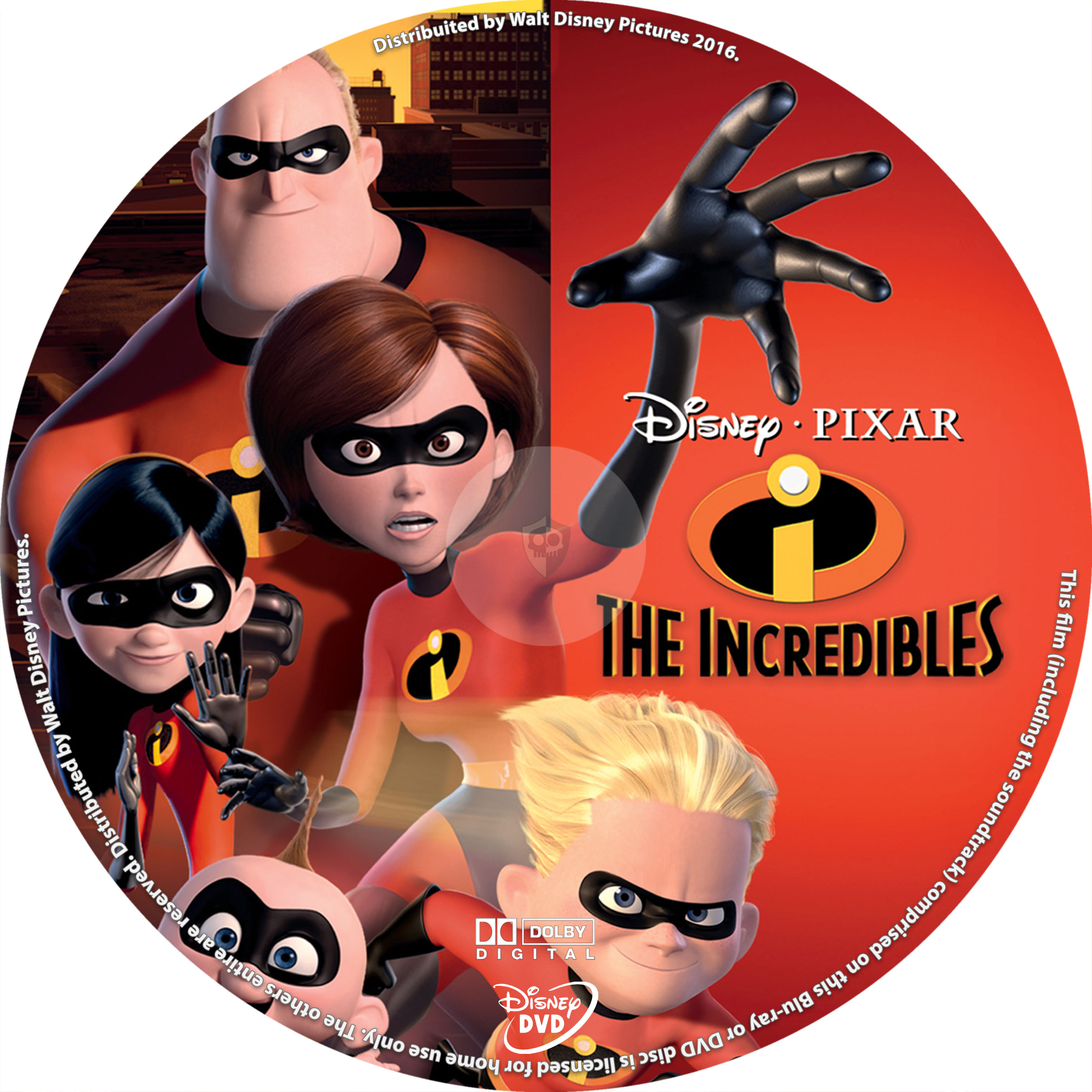 COVERS BOX SK ::: The Incredibles (2004) - high quality DVD