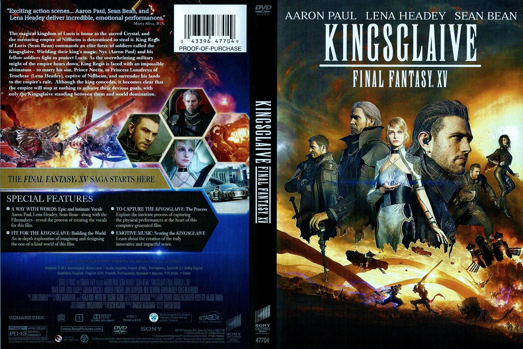 Book Cover Fantasy Xv : Covers box sk kingsglaive final fantasy xv high