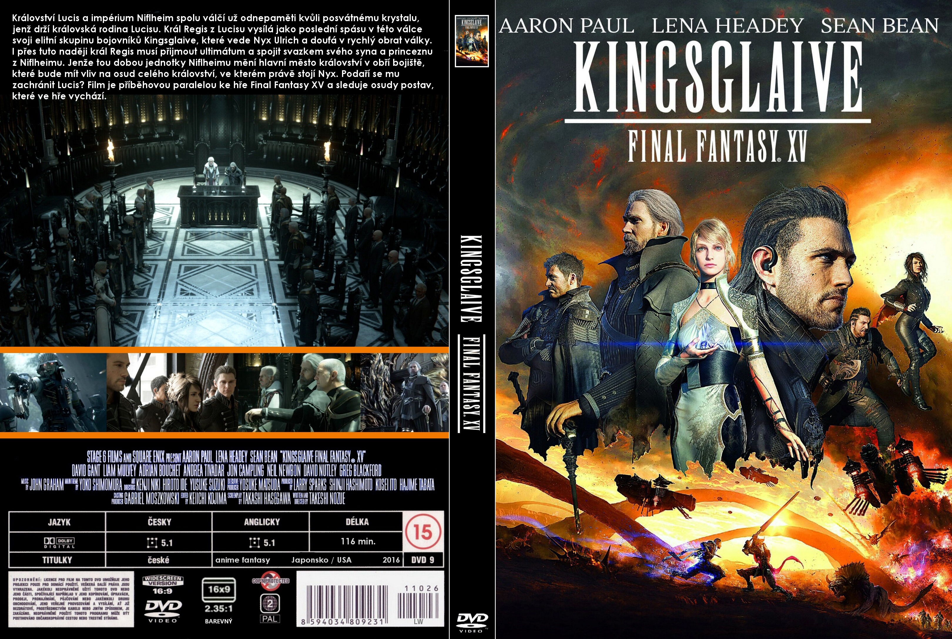 Covers Box Sk Kingsglaive Final Fantasy Xv 2016 High