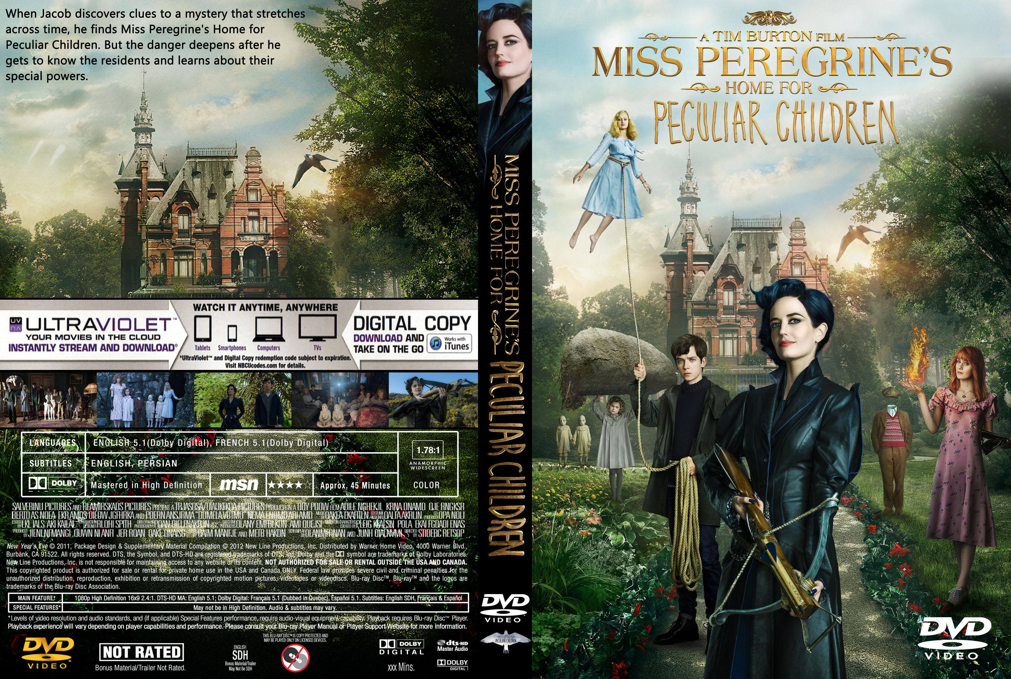 miss peregrine full movie english