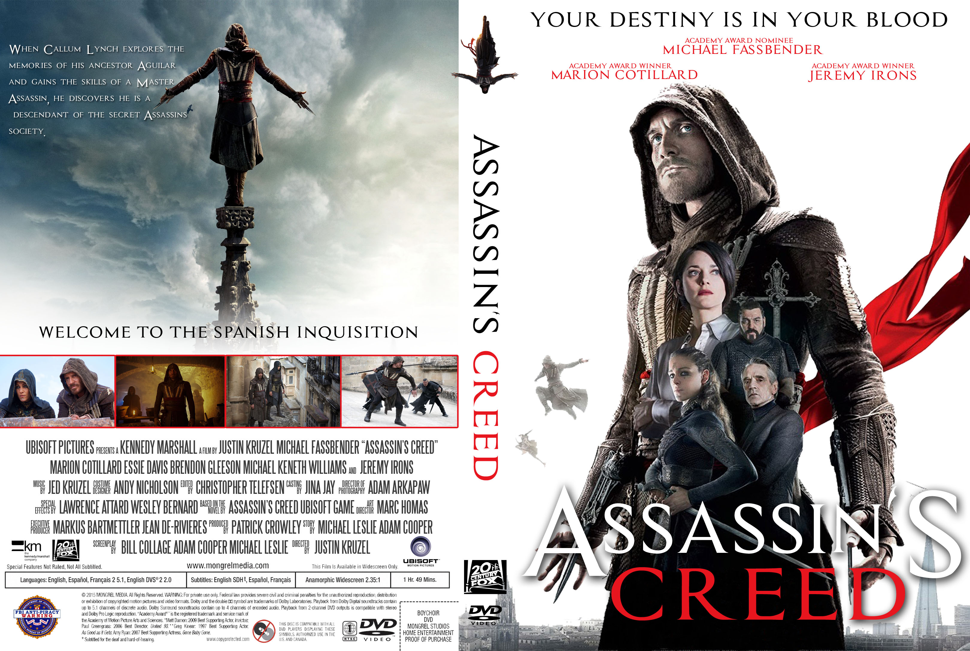 Кредо Убийцы  Assassins Creed Lineage 2009 смотреть