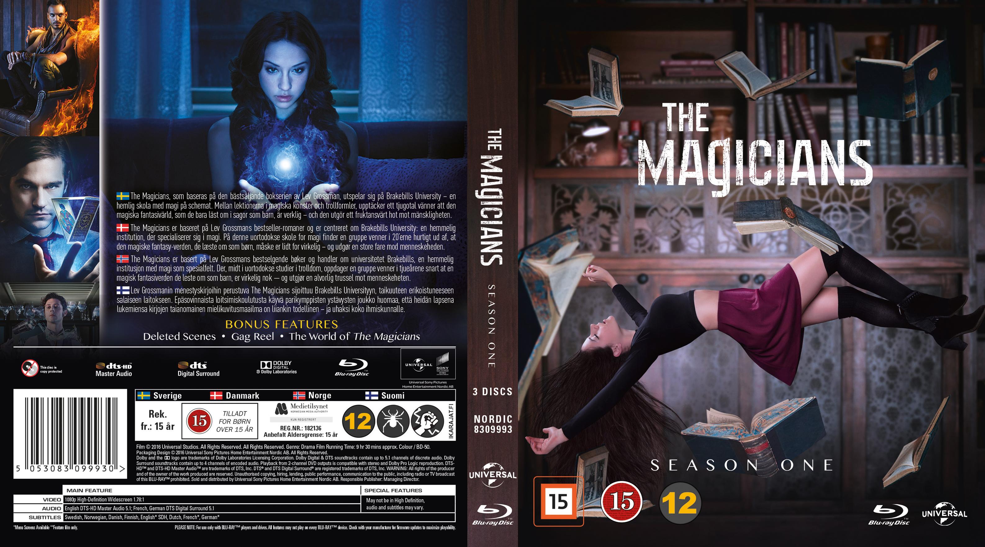 COVERS BOX SK ::: The Magicians - Season 1 - Blu-Ray