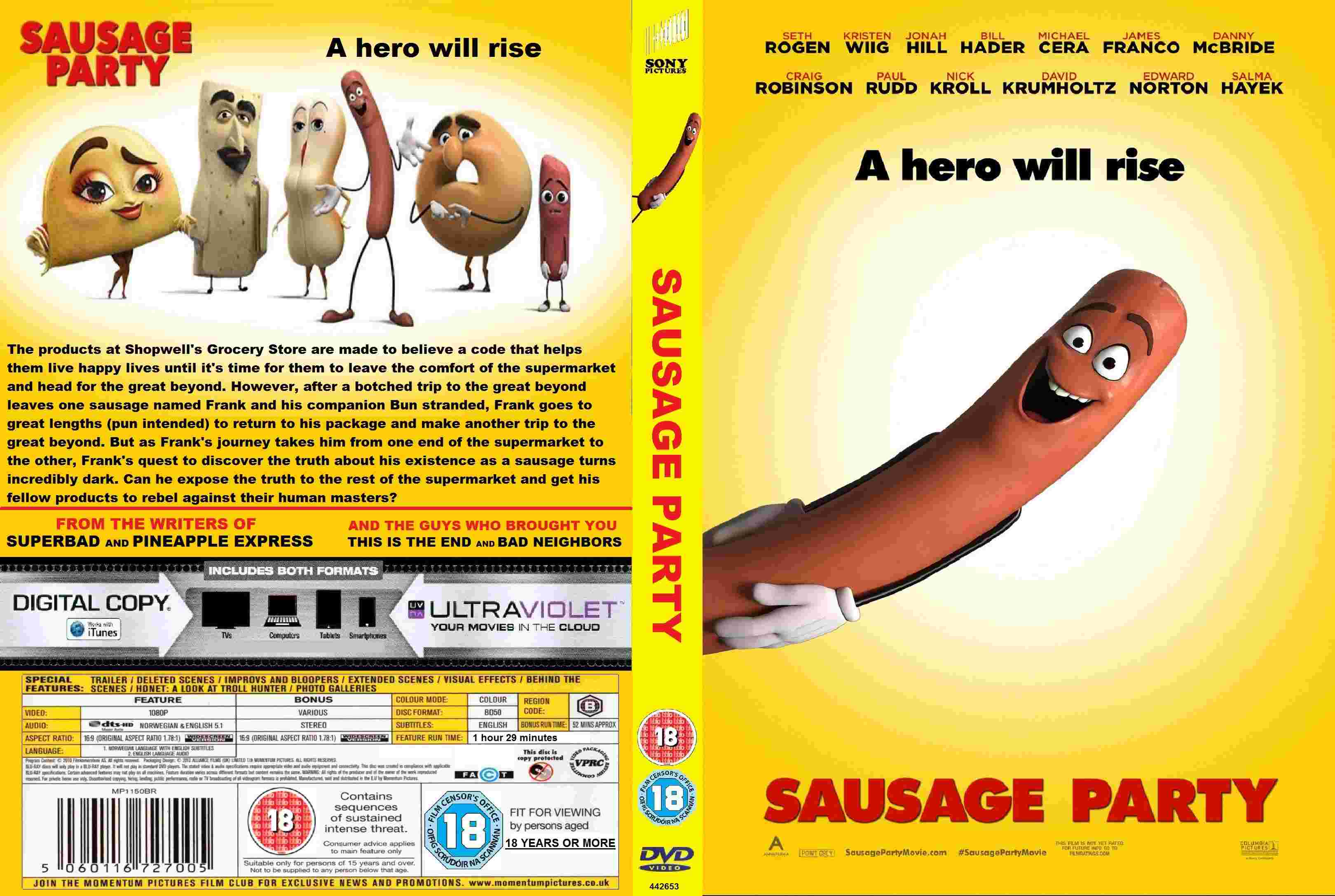 sausage party hd movie download