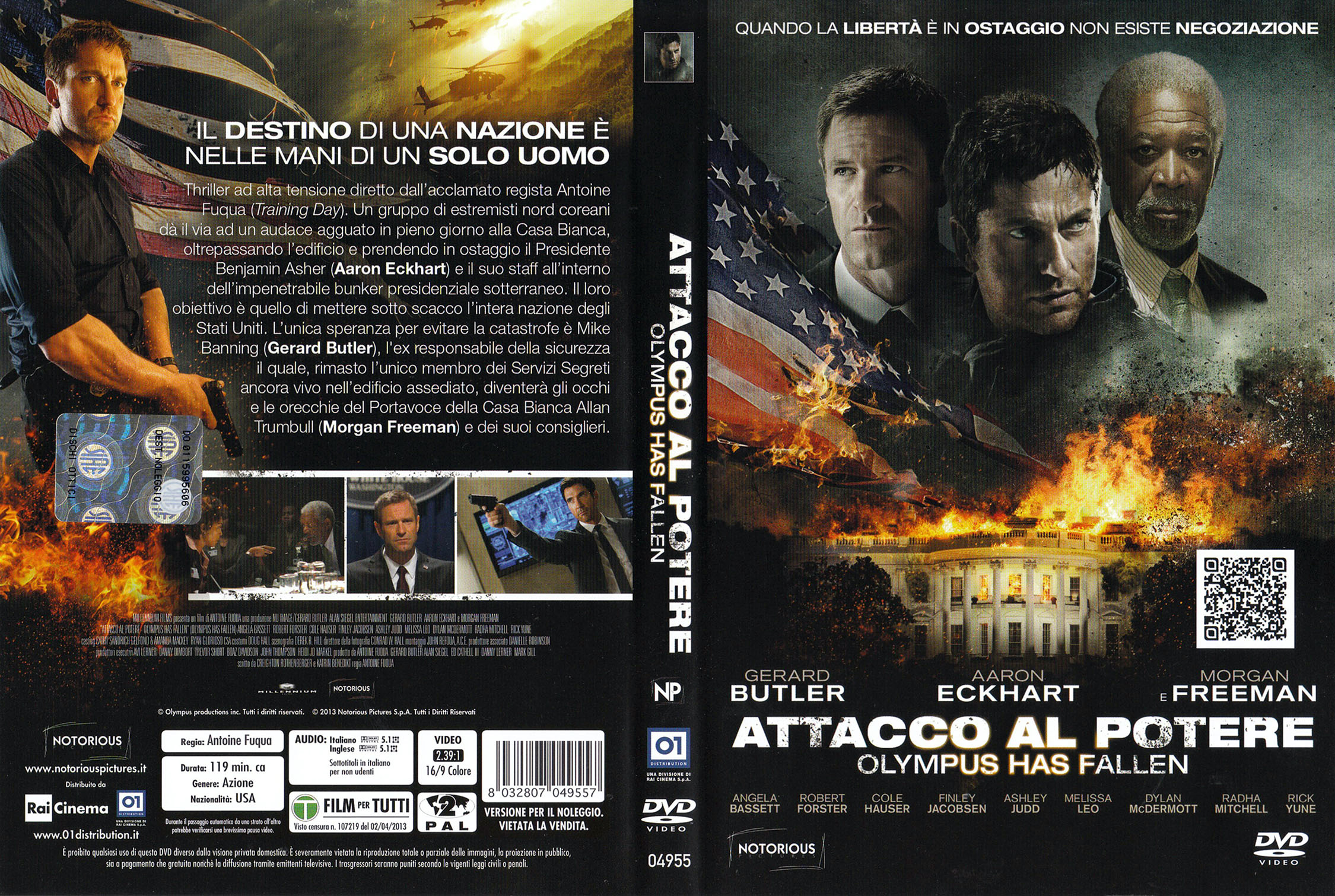 COVERS.BOX.SK ::: Attacco Al Potere - Olympus Has Fallen (2013) - high  quality DVD / Blueray / Movie