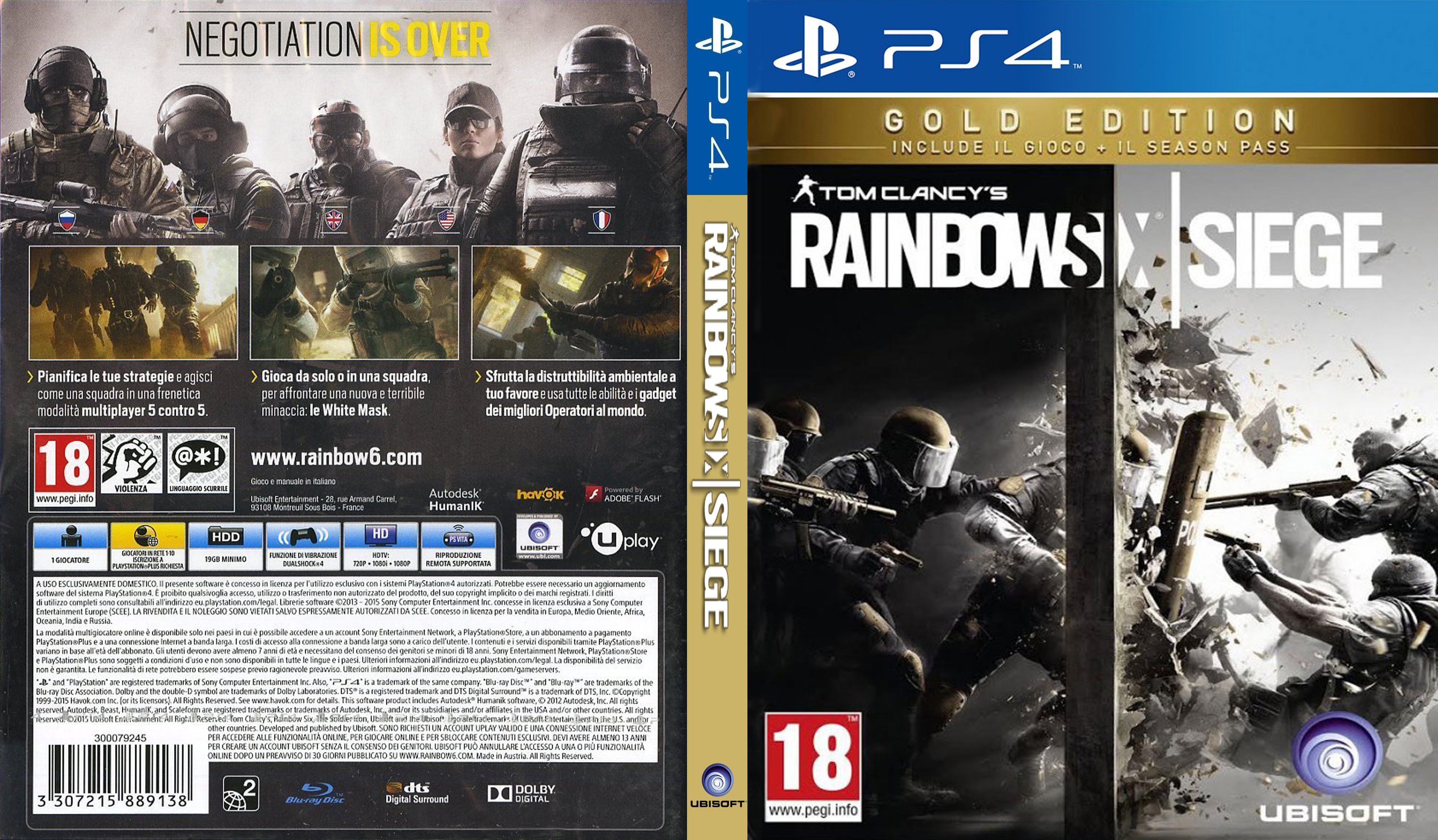 Image result for tom clancy's rainbow six siege ps4