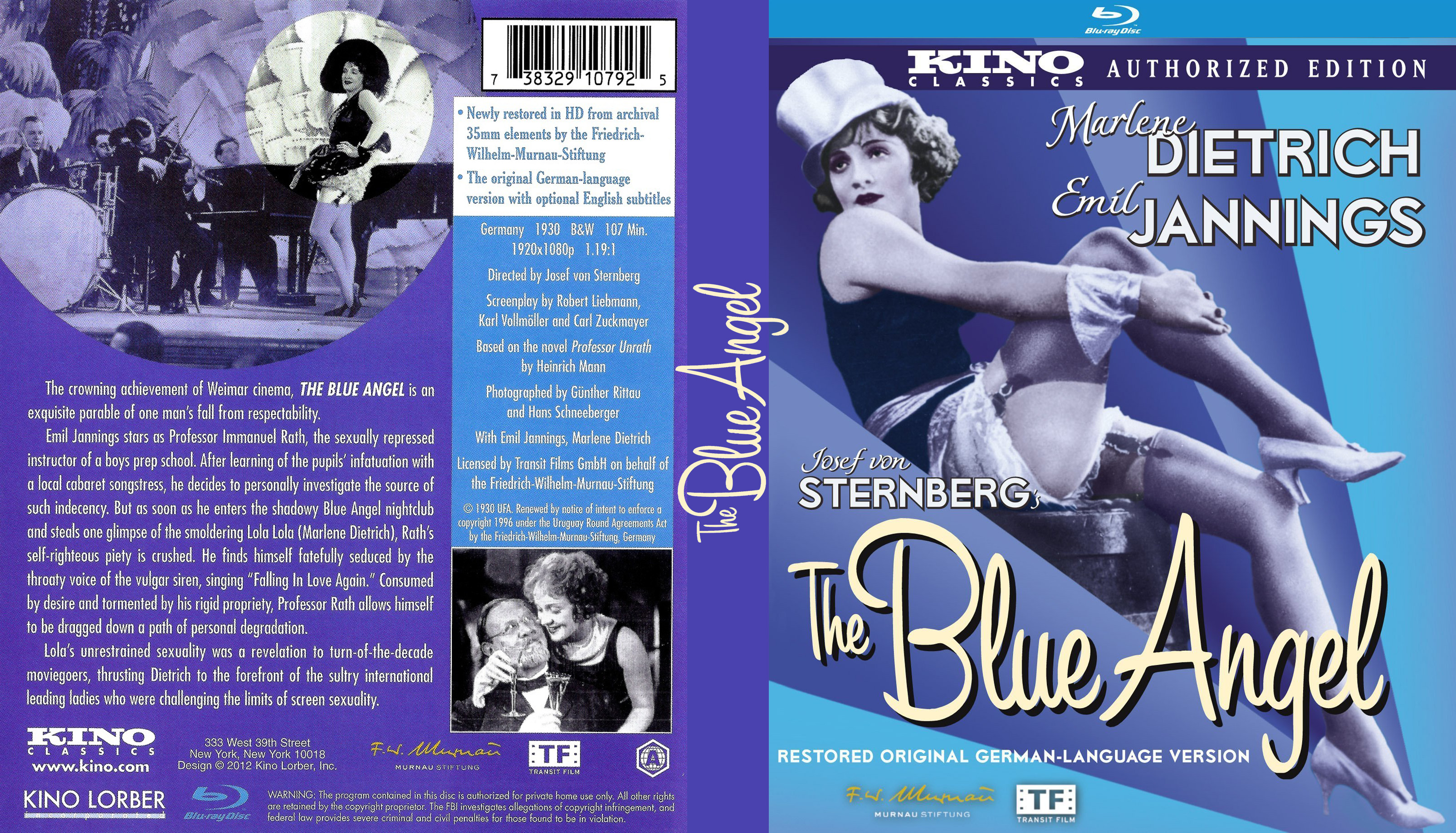 COVERS BOX SK ::: The Blue Angel 1930 [IMOVIE-DL] - high