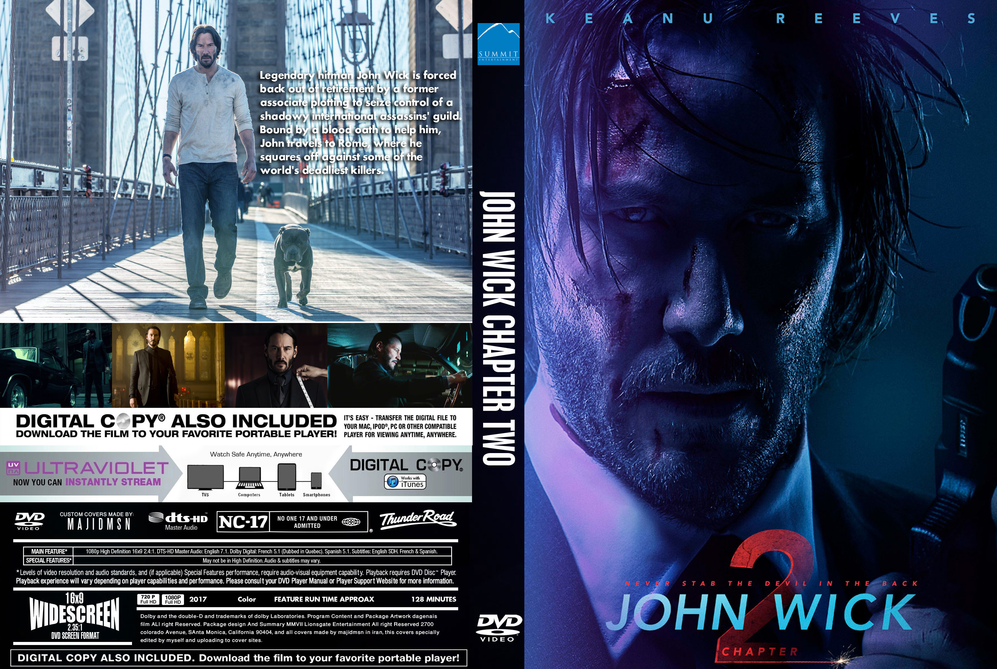 Covers Box Sk John Wick Chapter 2 2017 High