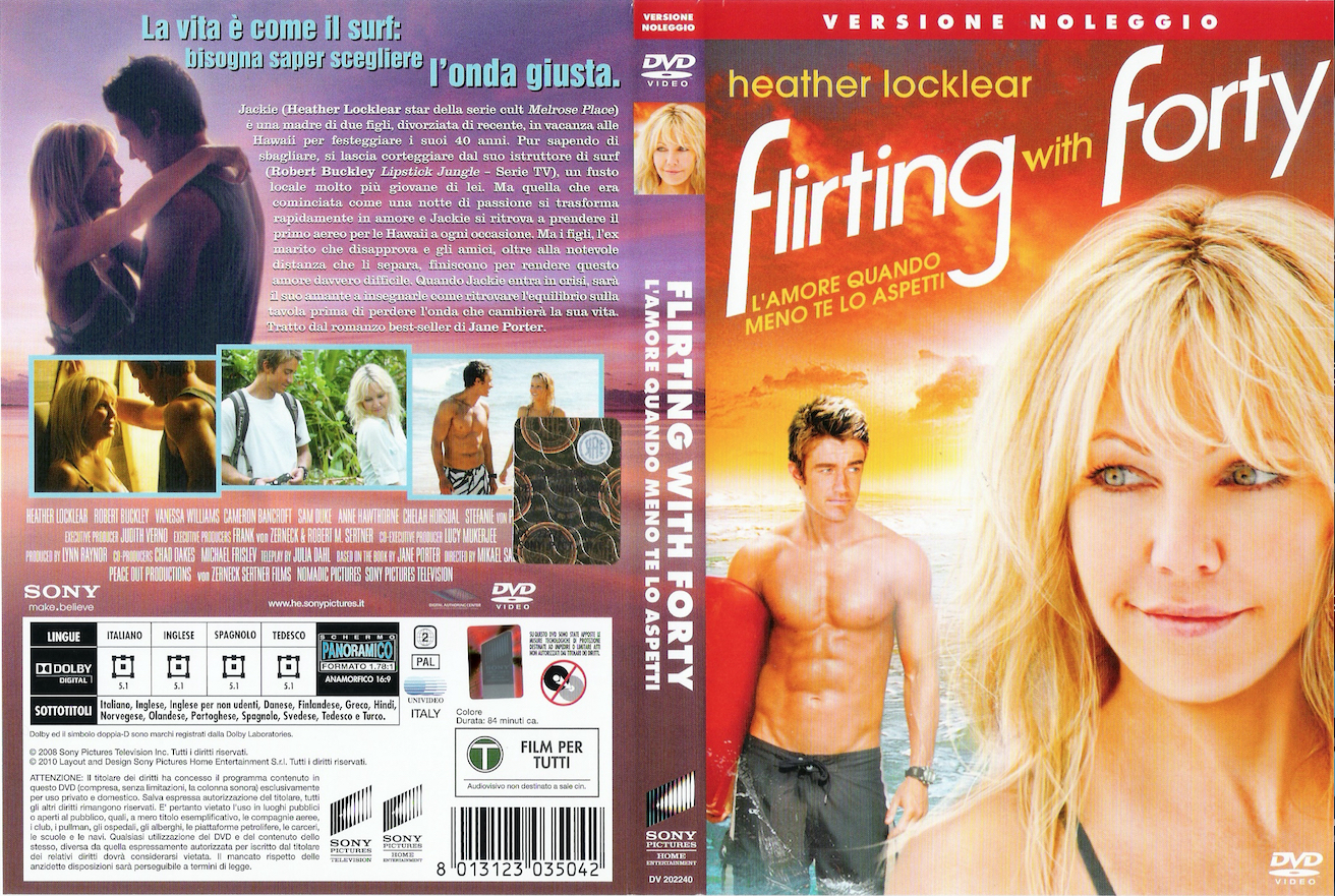 flirting with forty dvd cover photos: