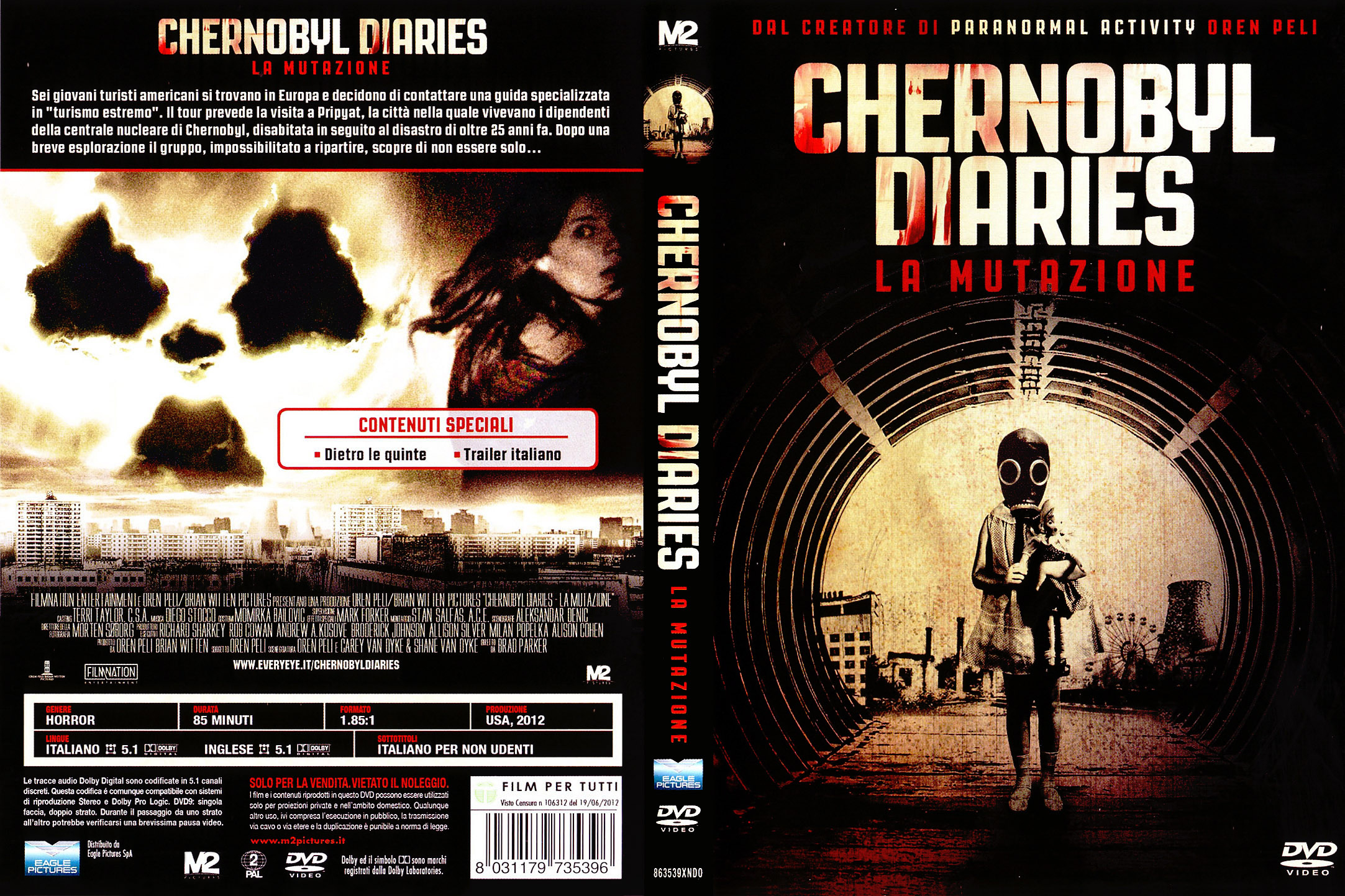 COVERS BOX SK ::: Chernobyl Diaries - La Mutazione (2012) - high