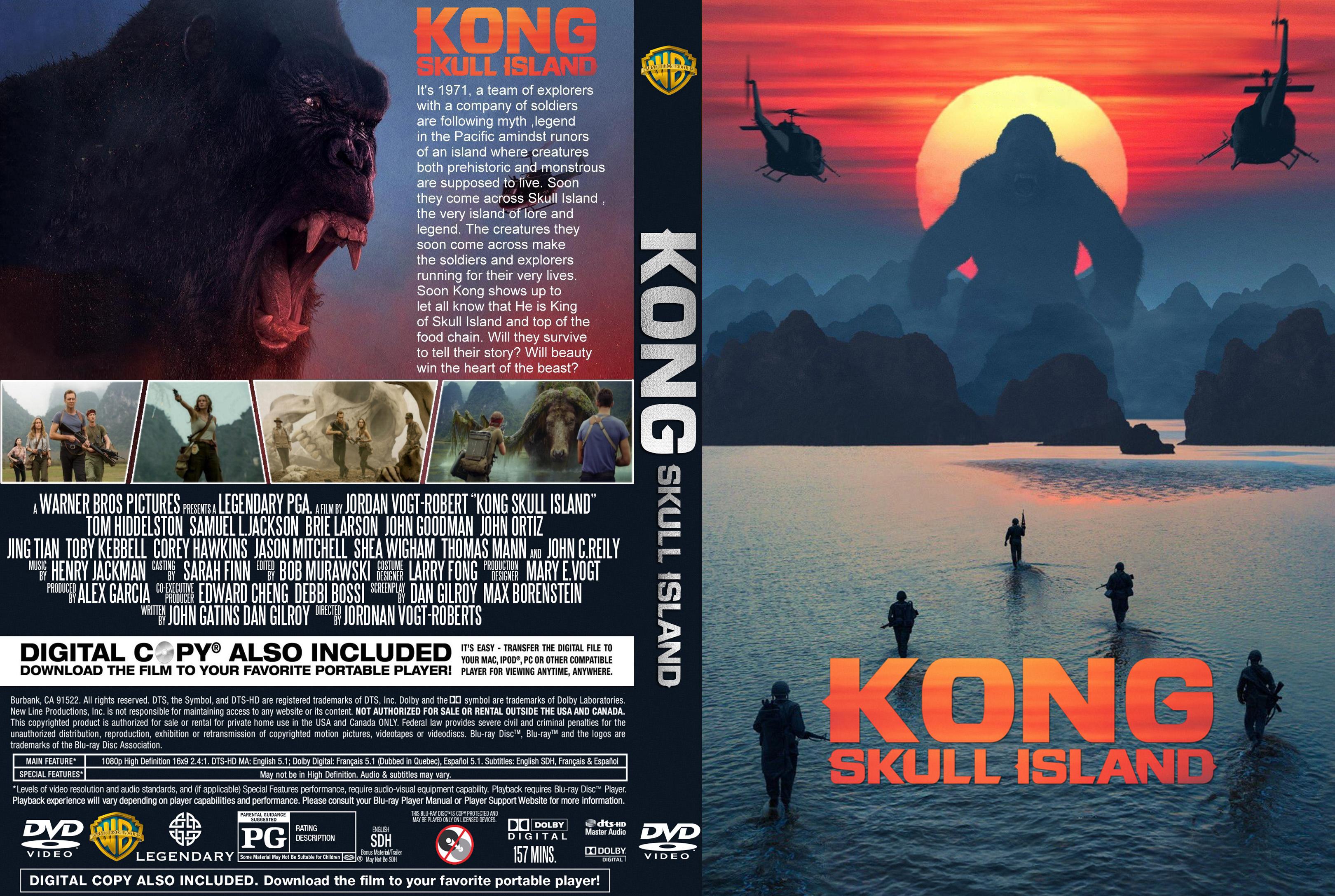 Coversboxsk Kong Skull Island 2017 High Quality