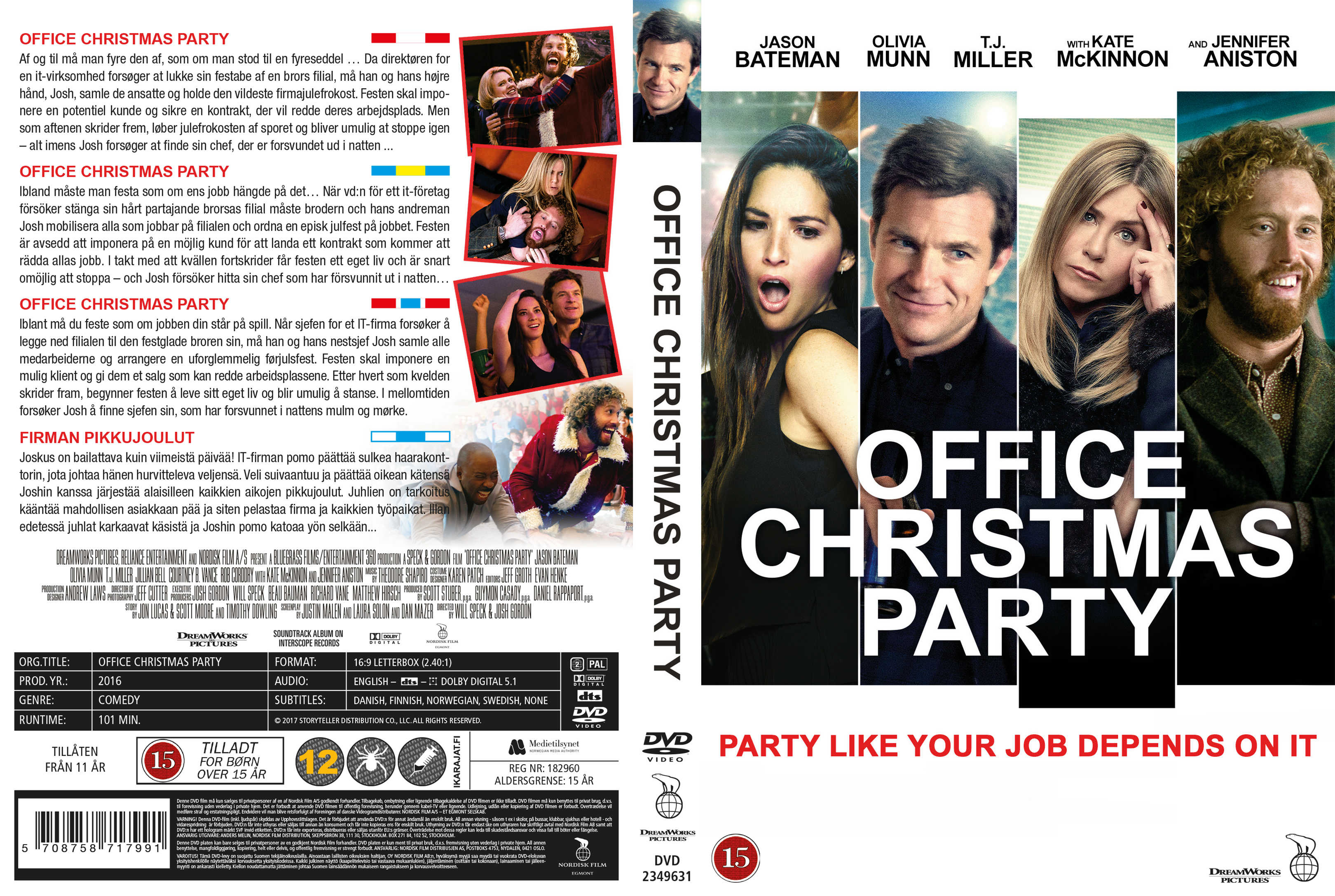 COVERS.BOX.SK ::: Office Christmas Party - Nordic (2016) - high ...