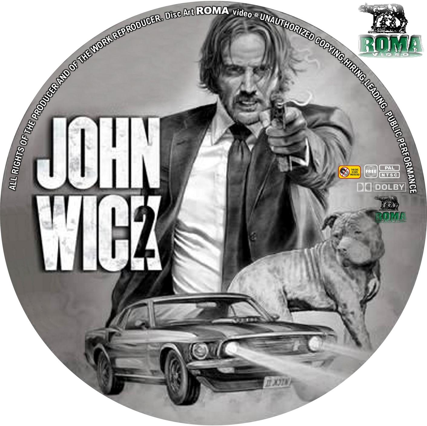 Coversboxsk John Wick 2 2017 High Quality Dvd Blueray