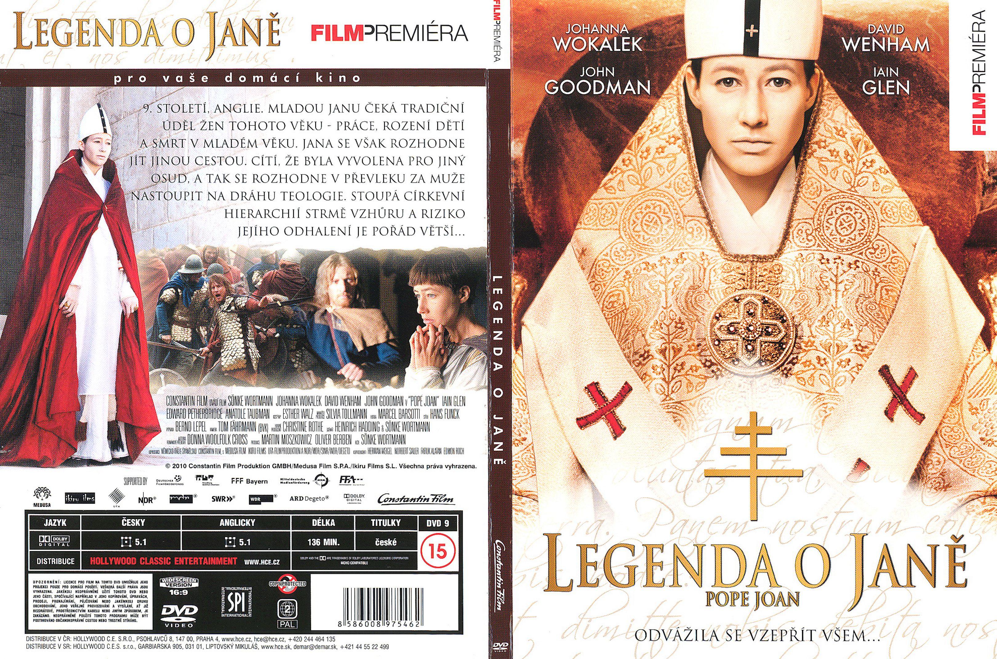 pope joan dvd 2009