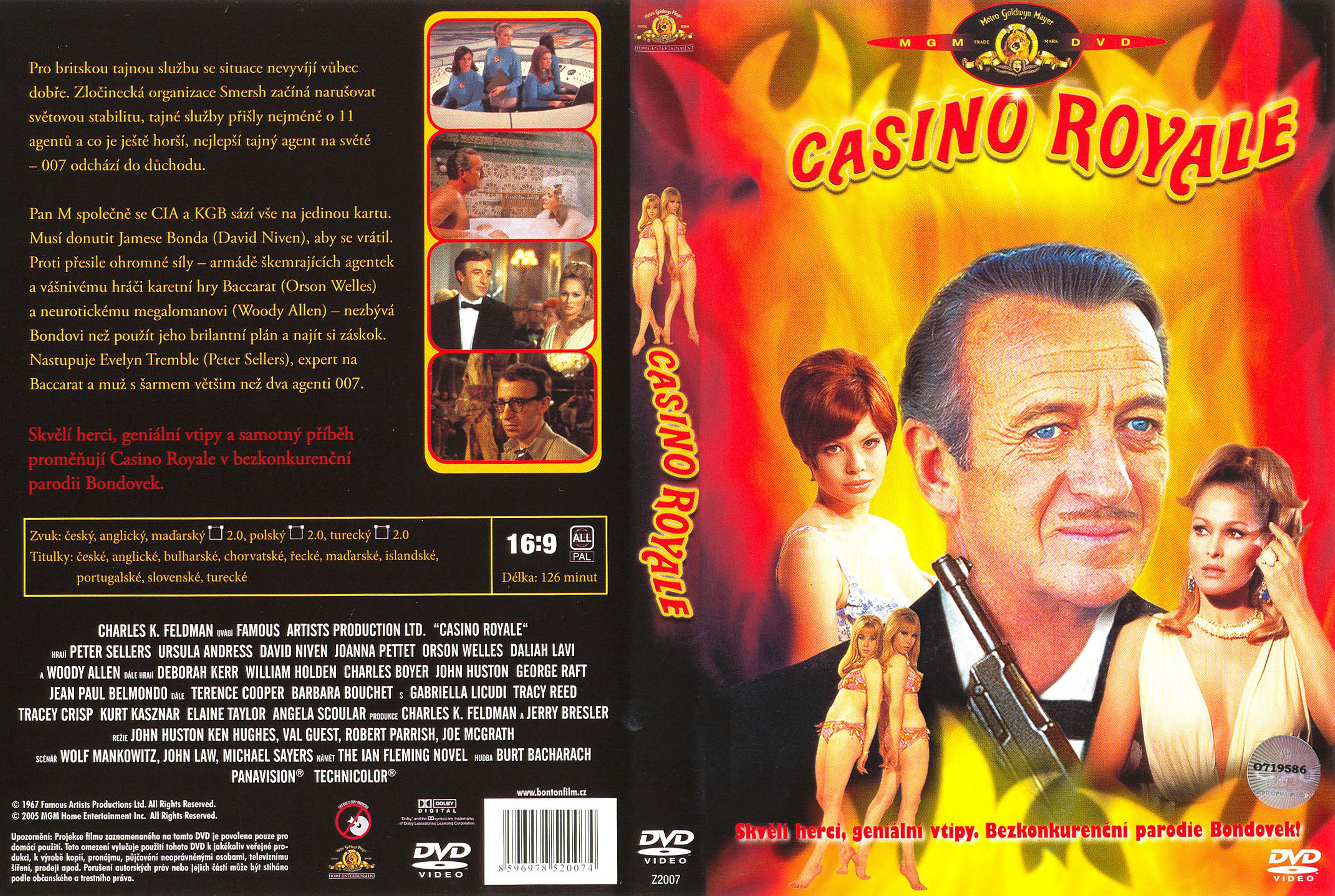 Casino royale 1967 dvd blackjack card game 2 player