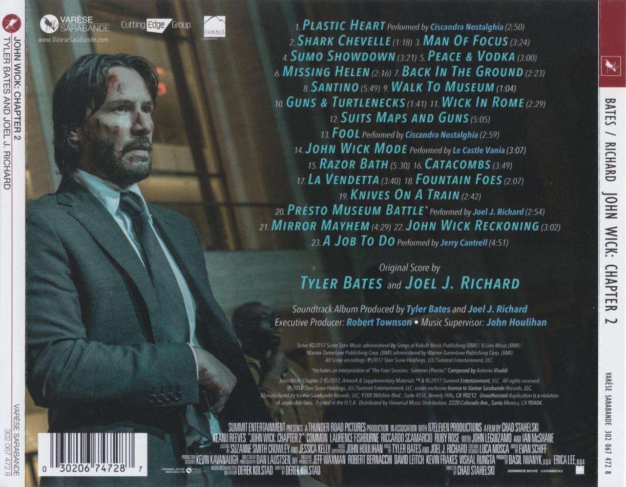 John Wick Original Motion Picture Soundtrack – Arresidency