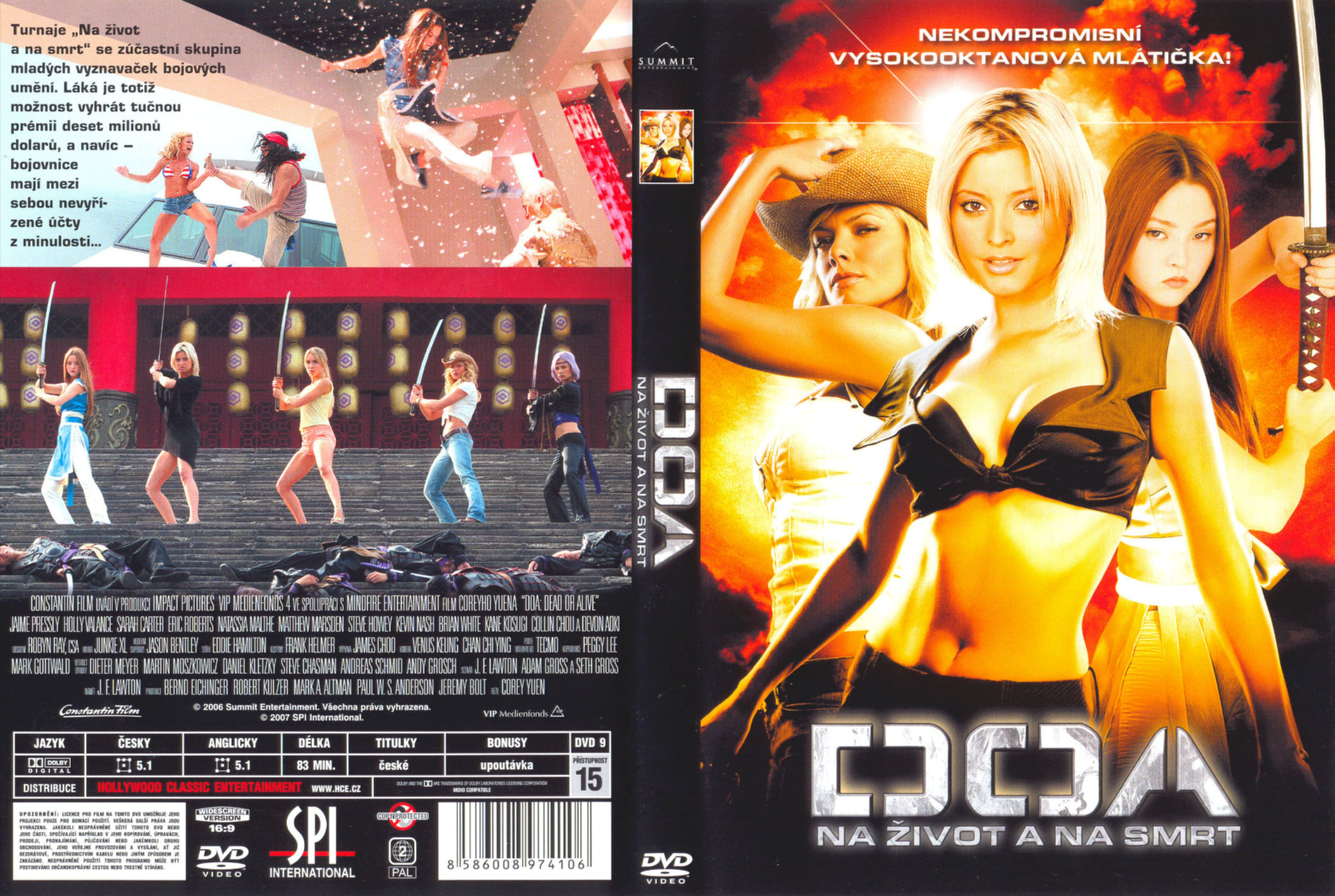 Covers Box Sk Doa Dead Or Alive 2006 High Quality Dvd